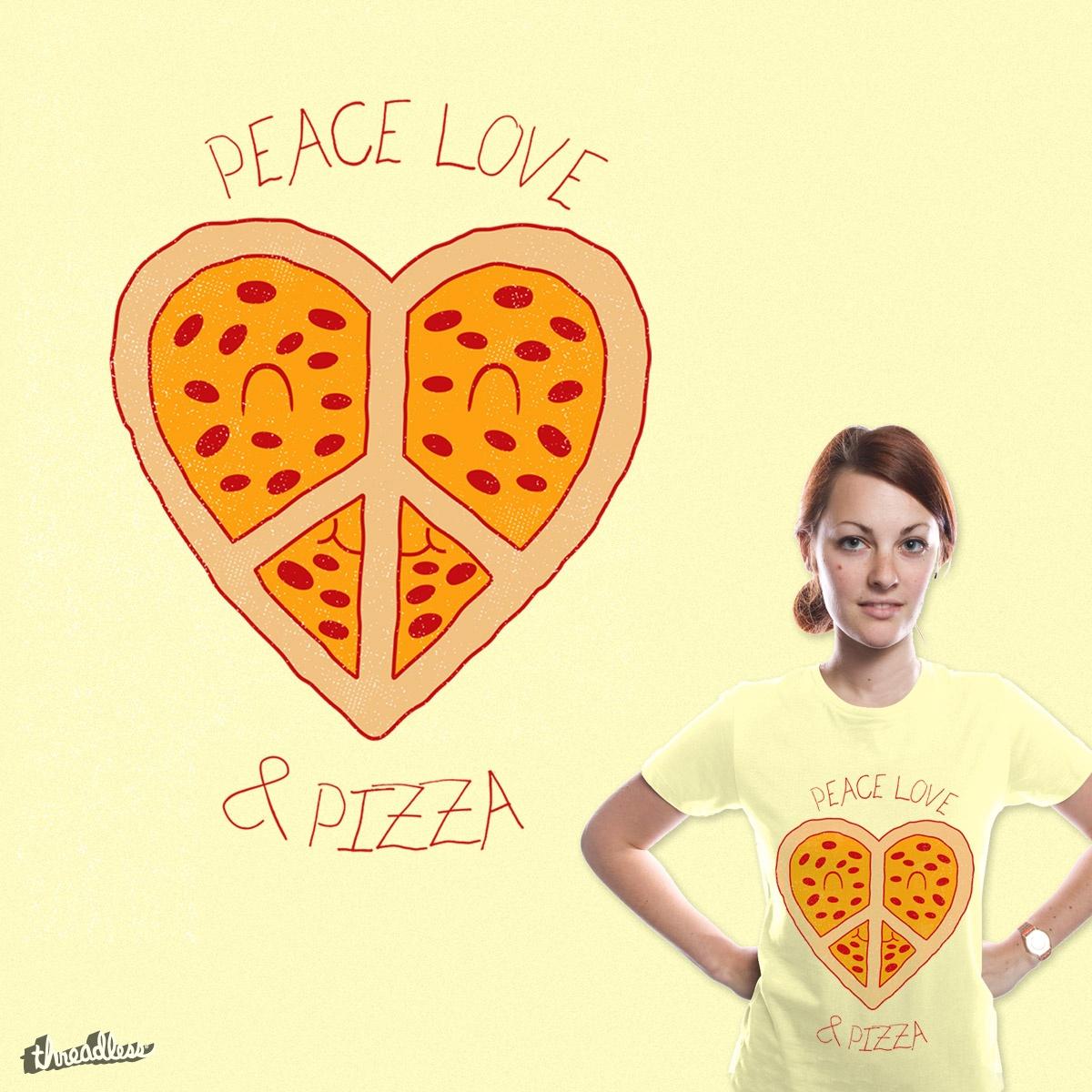 Peace Love & Yummy by kuli_grafis on Threadless