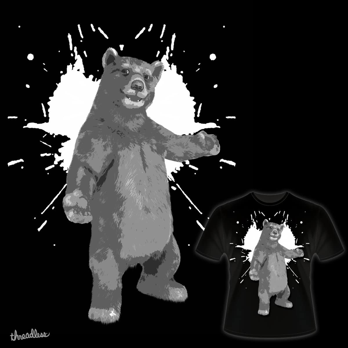 Give me a Hug! by wishurdesign on Threadless