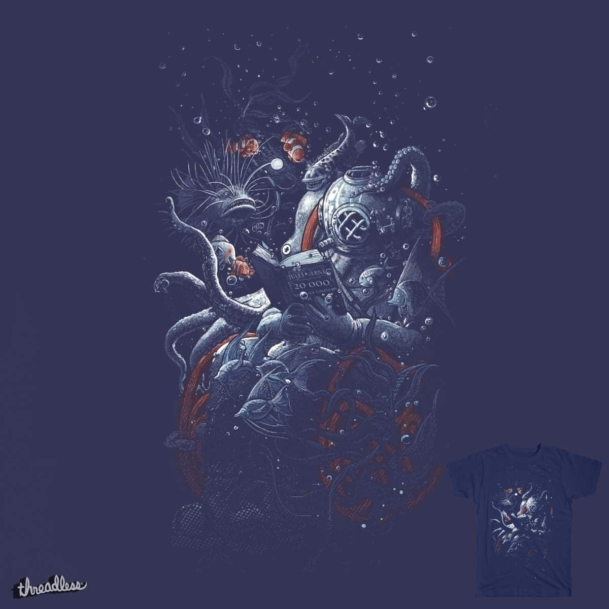 i'd like to be under the sea by choubaka360 on Threadless