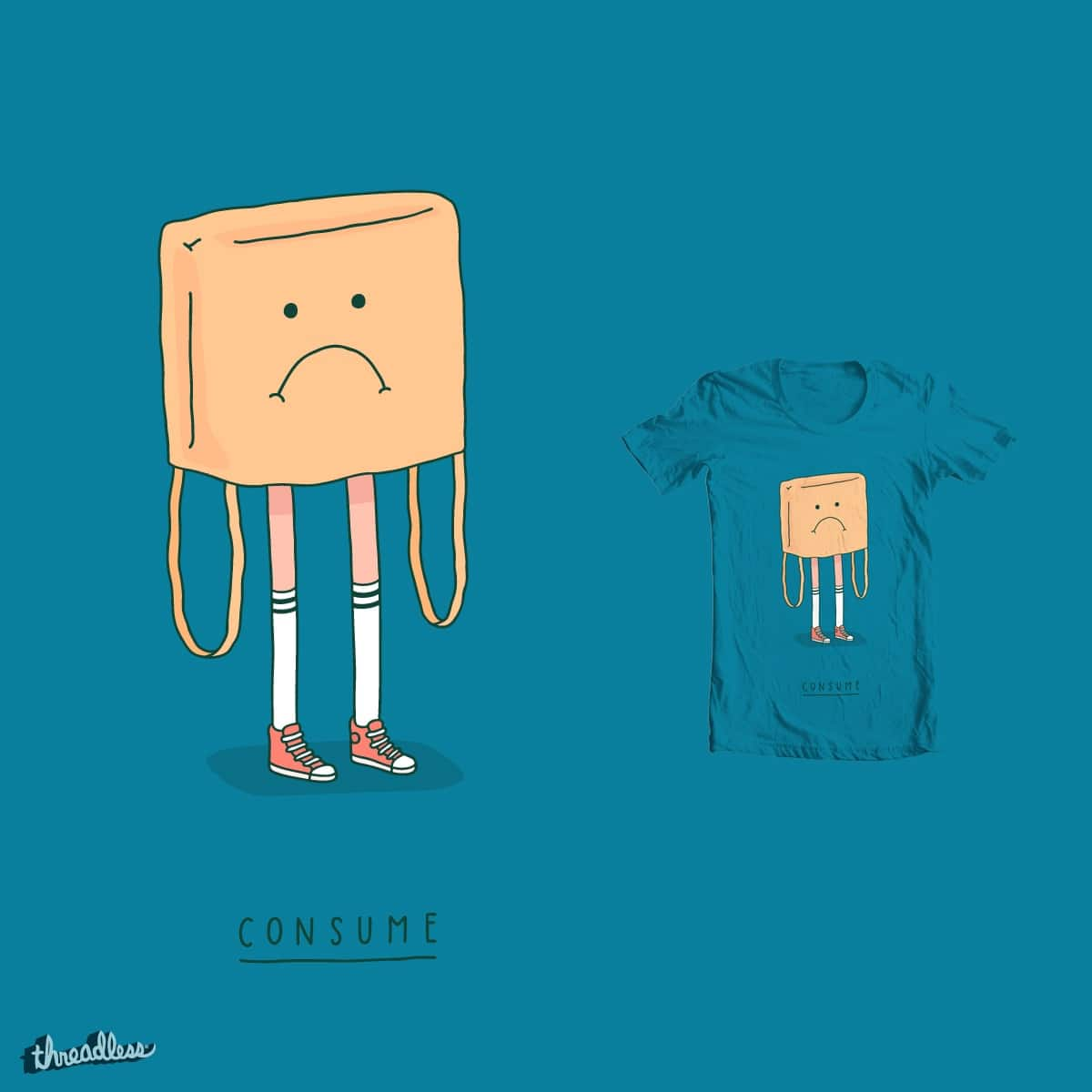 Consume by Haasbroek on Threadless