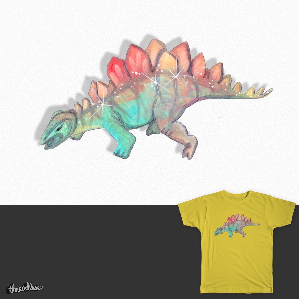 Sparklesaurus by spacecadette23 on Threadless