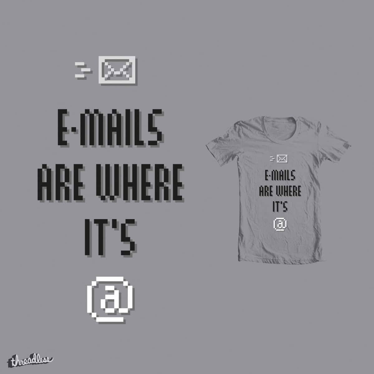 E-Mails by Haasbroek on Threadless