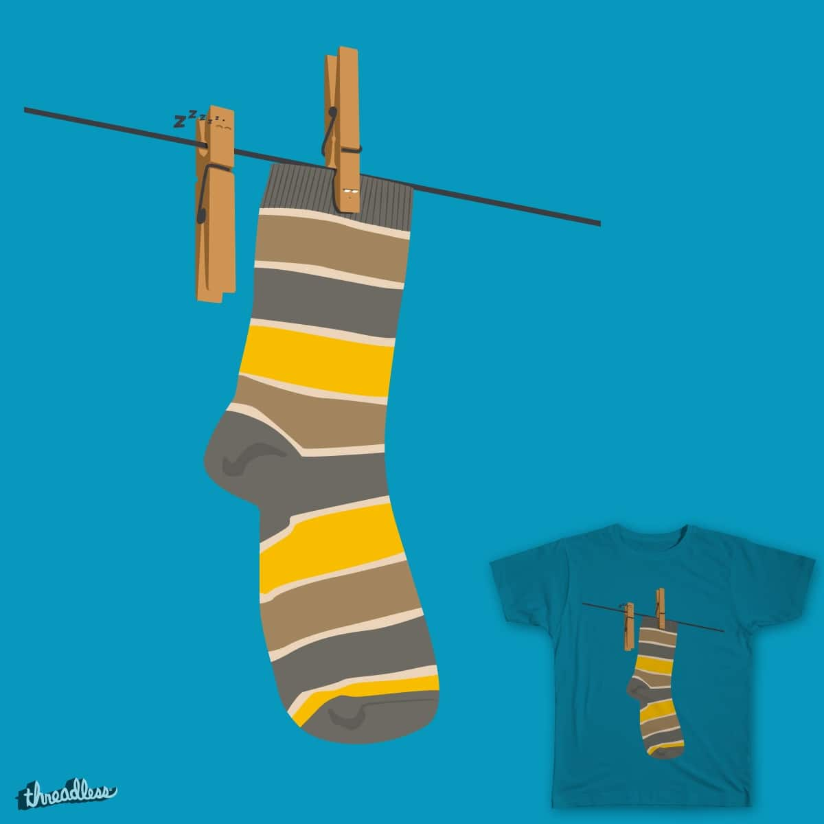 Working hard by zarika on Threadless