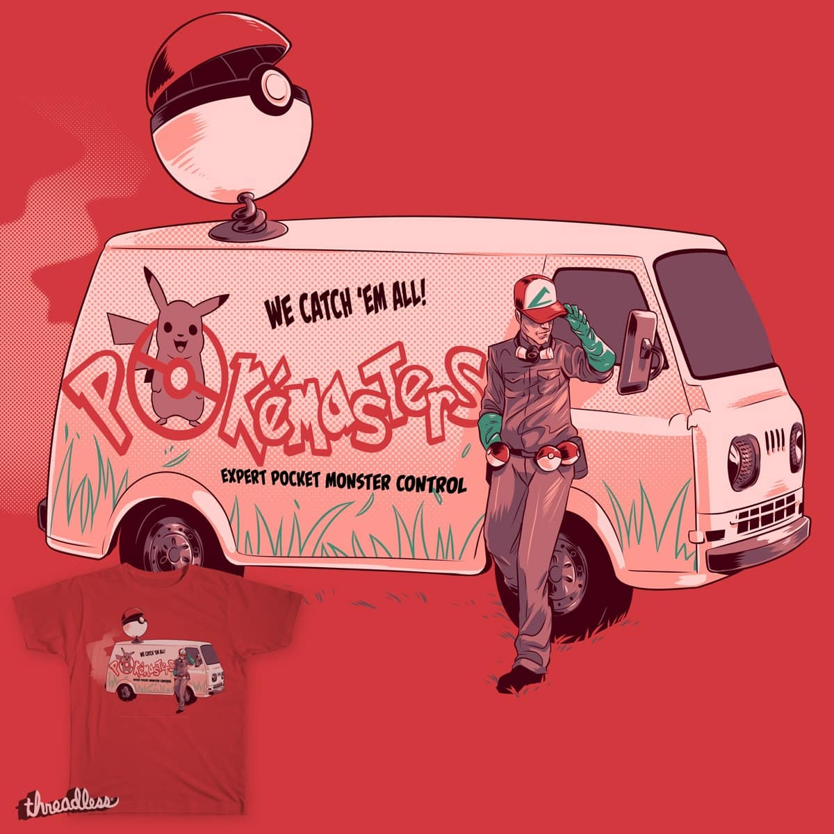 Catch em all by whiskysteaks on Threadless
