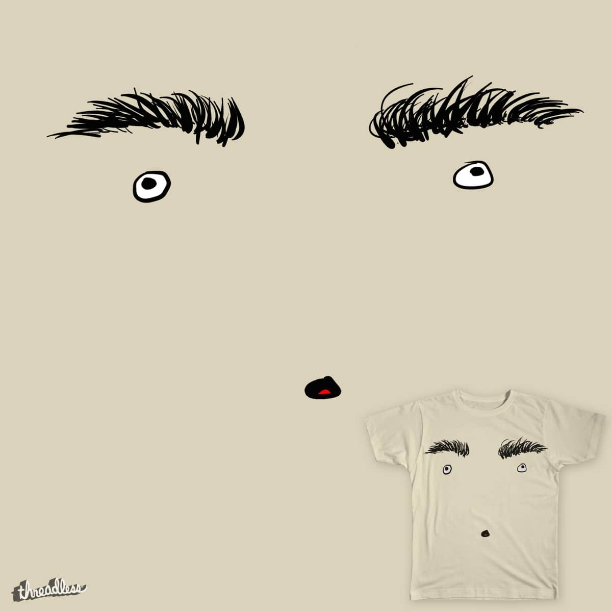 I Am A Face by keenanwoodall on Threadless