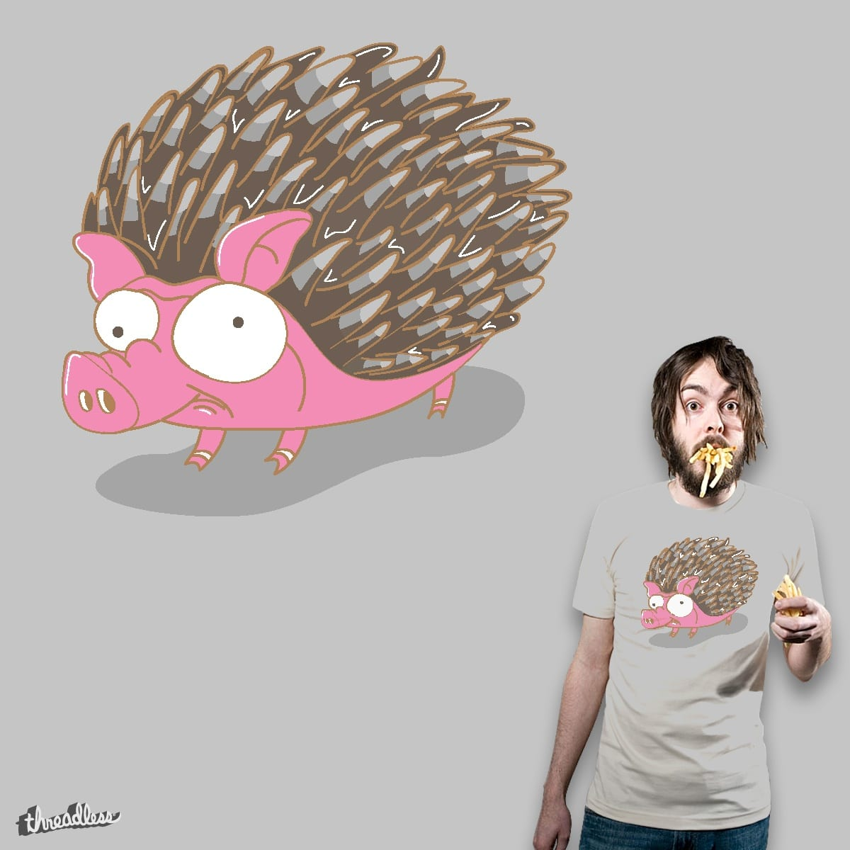 PORKCUPINE by je14 on Threadless