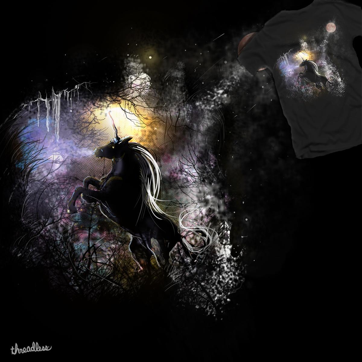 Unicorn of Ice by johnnyspeter on Threadless
