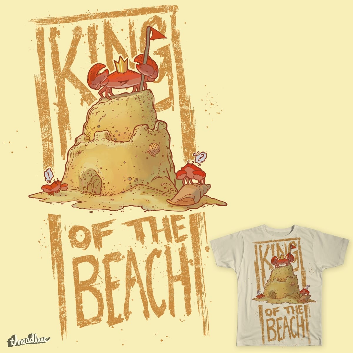 King of the Beach by Seyer21 on Threadless