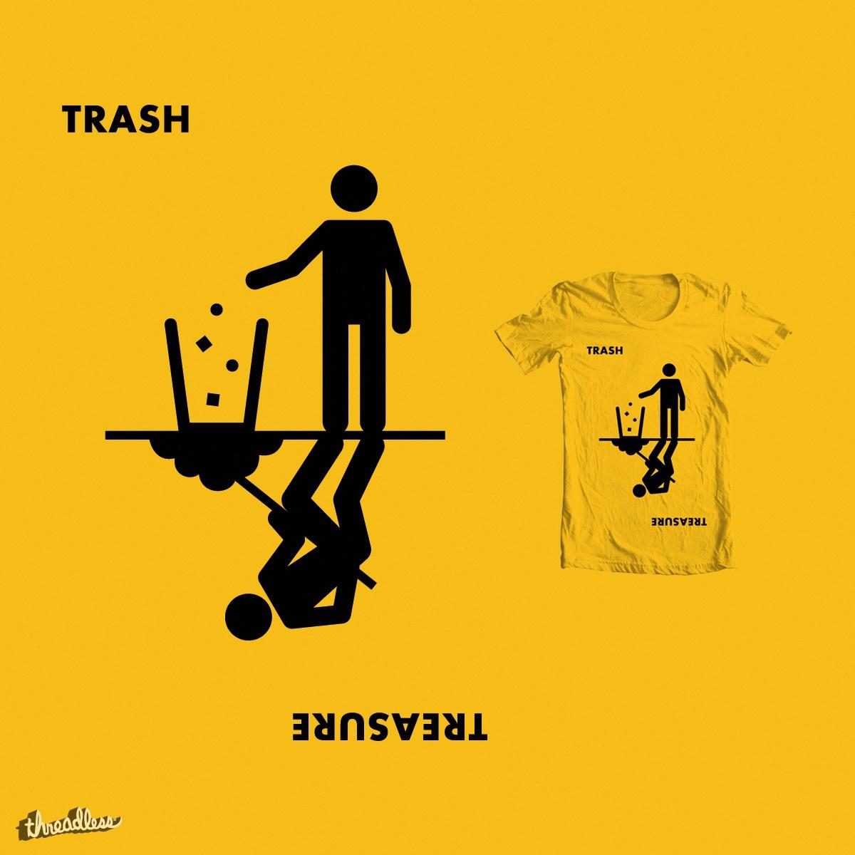 Trash/Treasure by Haasbroek on Threadless