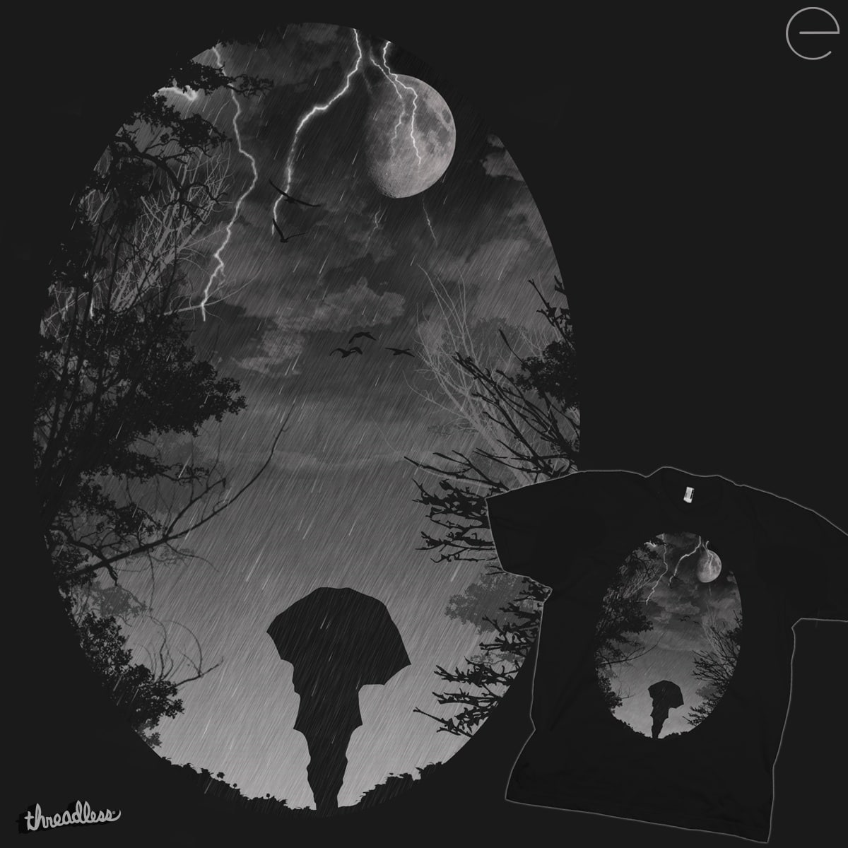 Stormy Night by enione on Threadless