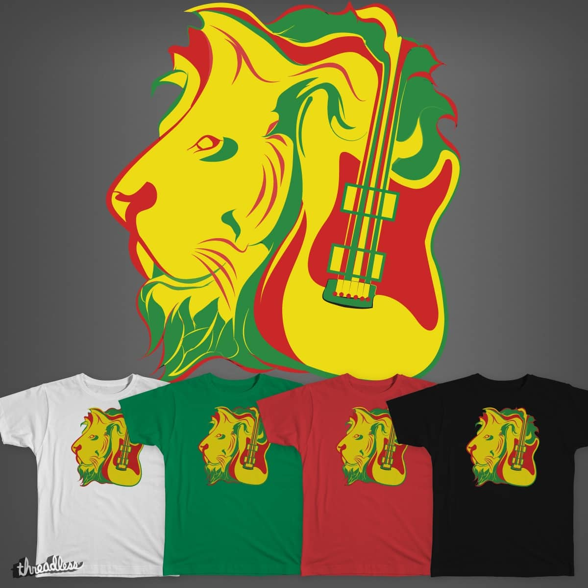 Funky Reggae Party by aaronmoralesdesigns on Threadless