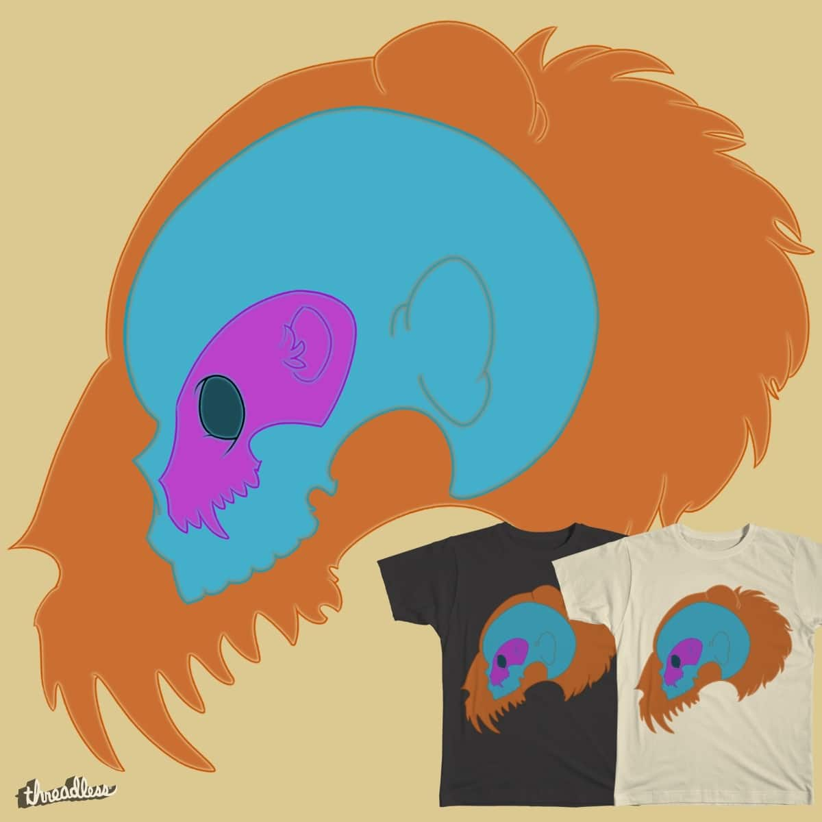 NumbSkull by dominiquedc on Threadless