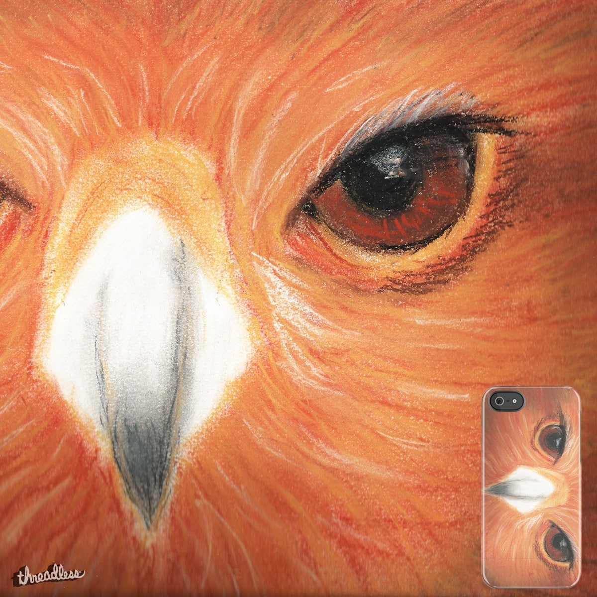 buzzard eyes by laure.detre on Threadless