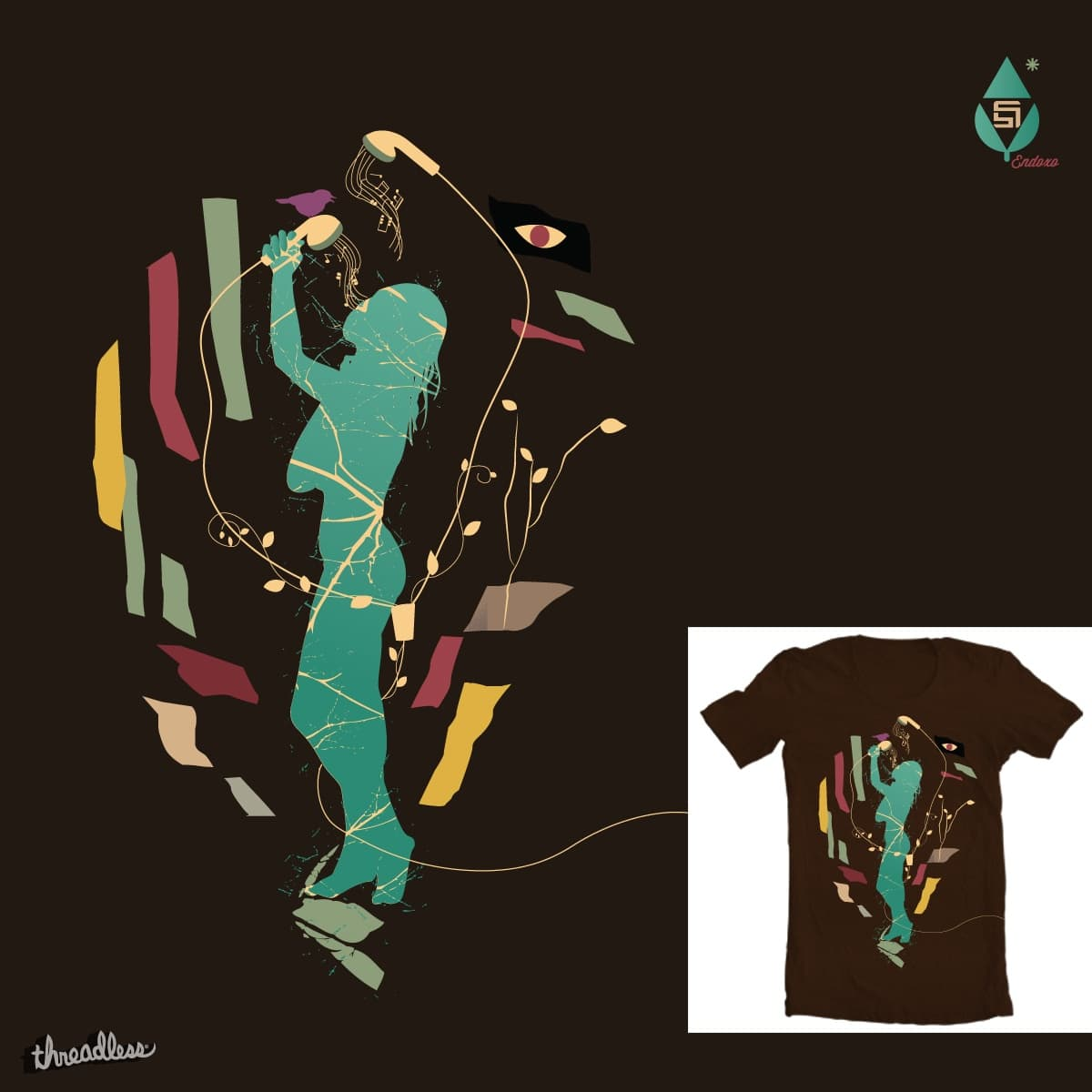 Bathing by mucro on Threadless