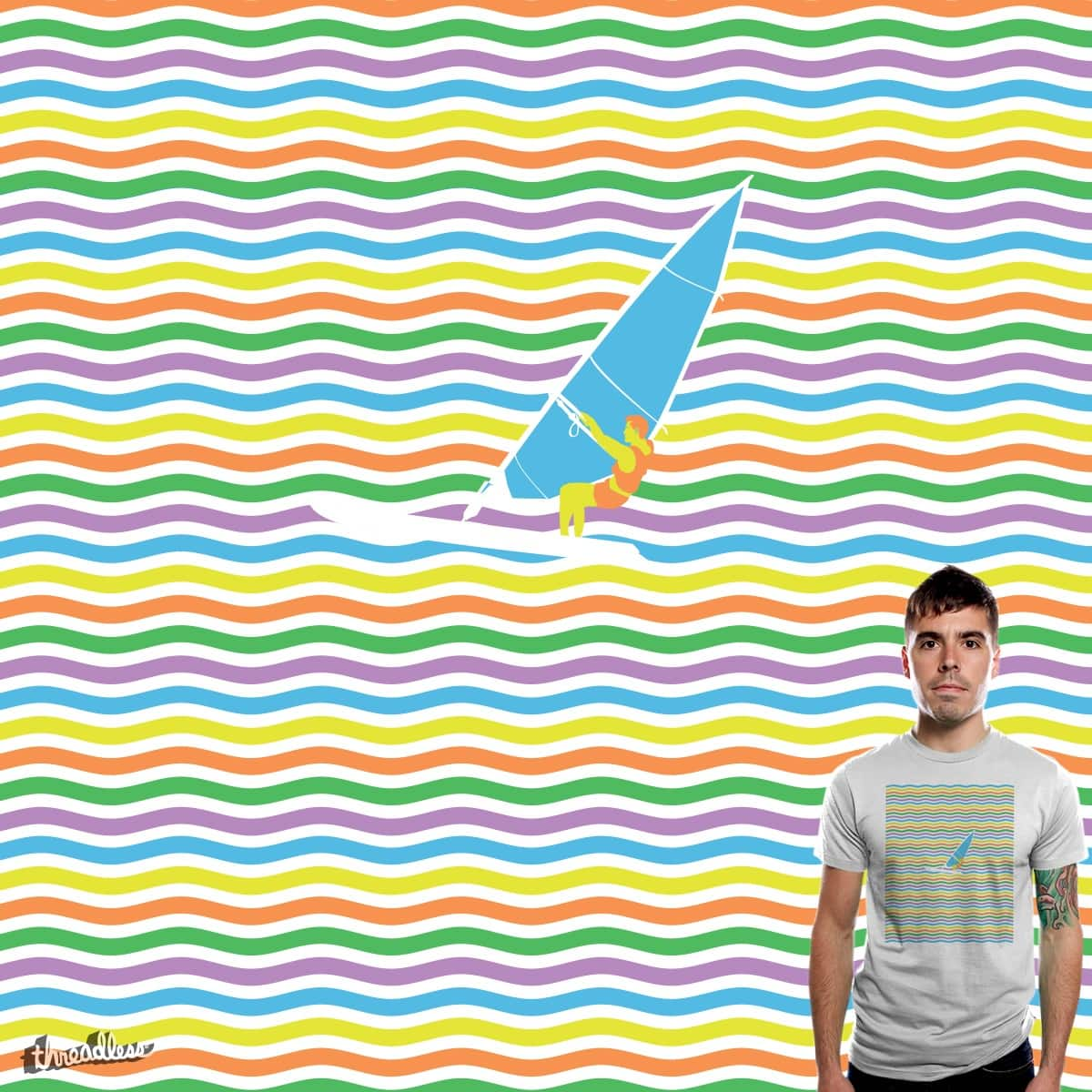 COLORFUL SEA by edgarscratch on Threadless