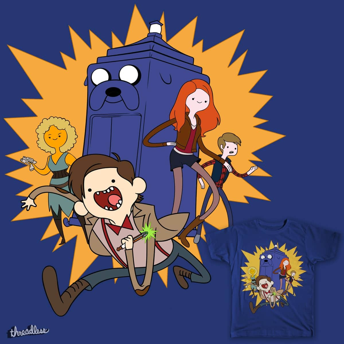 Doctor Adventure by Chimaera Wear on Threadless