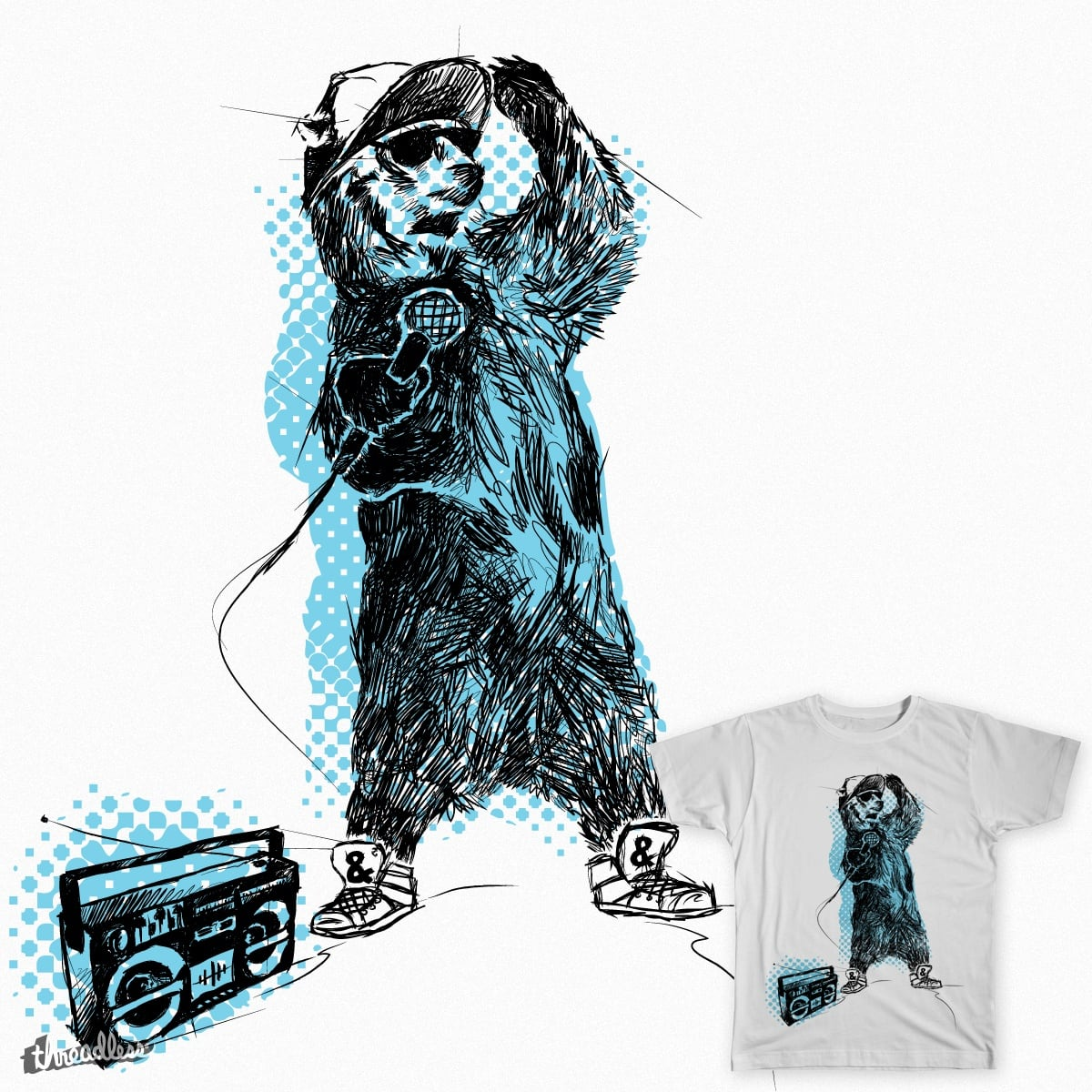 MC Grizzly by OandP_Creative on Threadless
