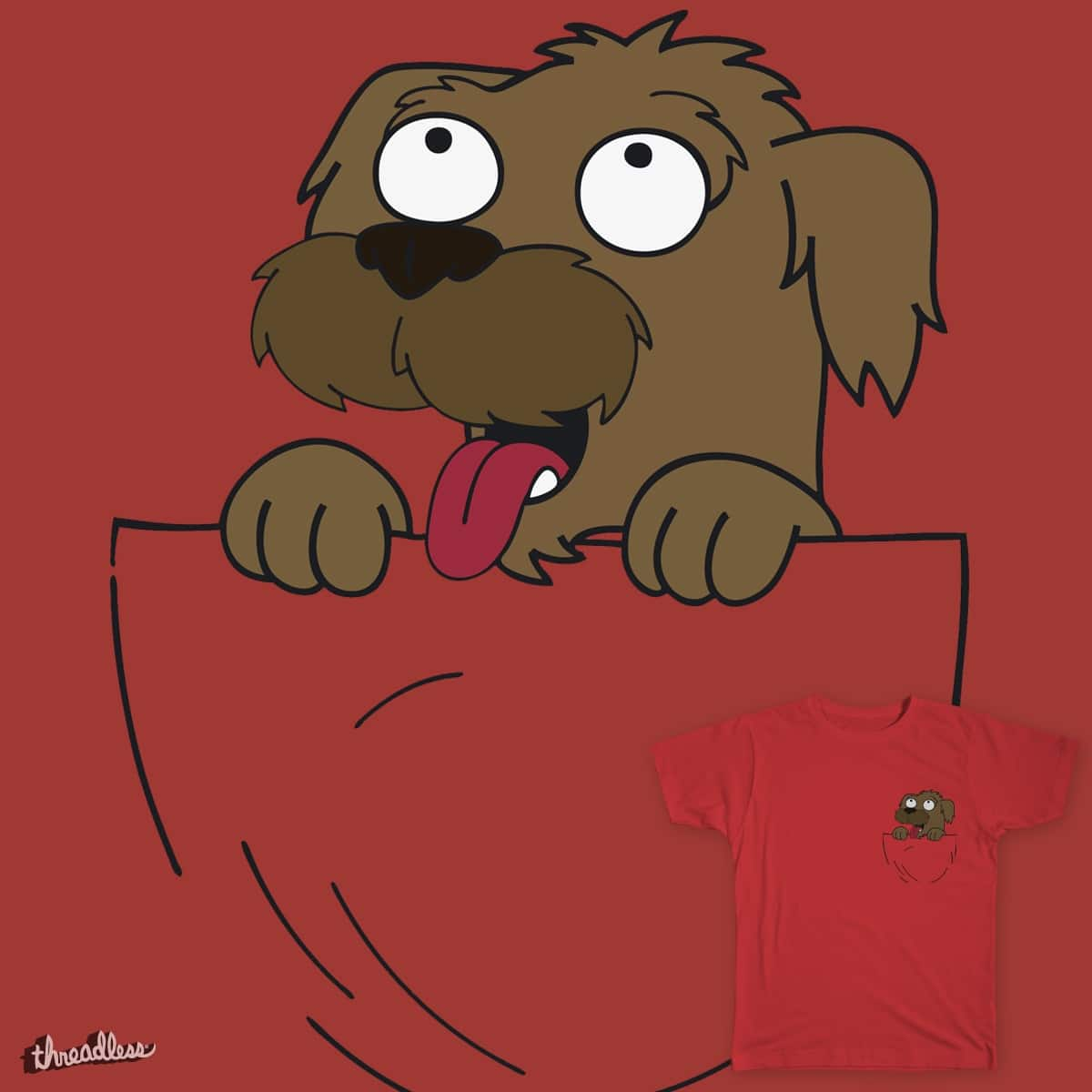 Seymour Pocket Pal by tintizzy on Threadless