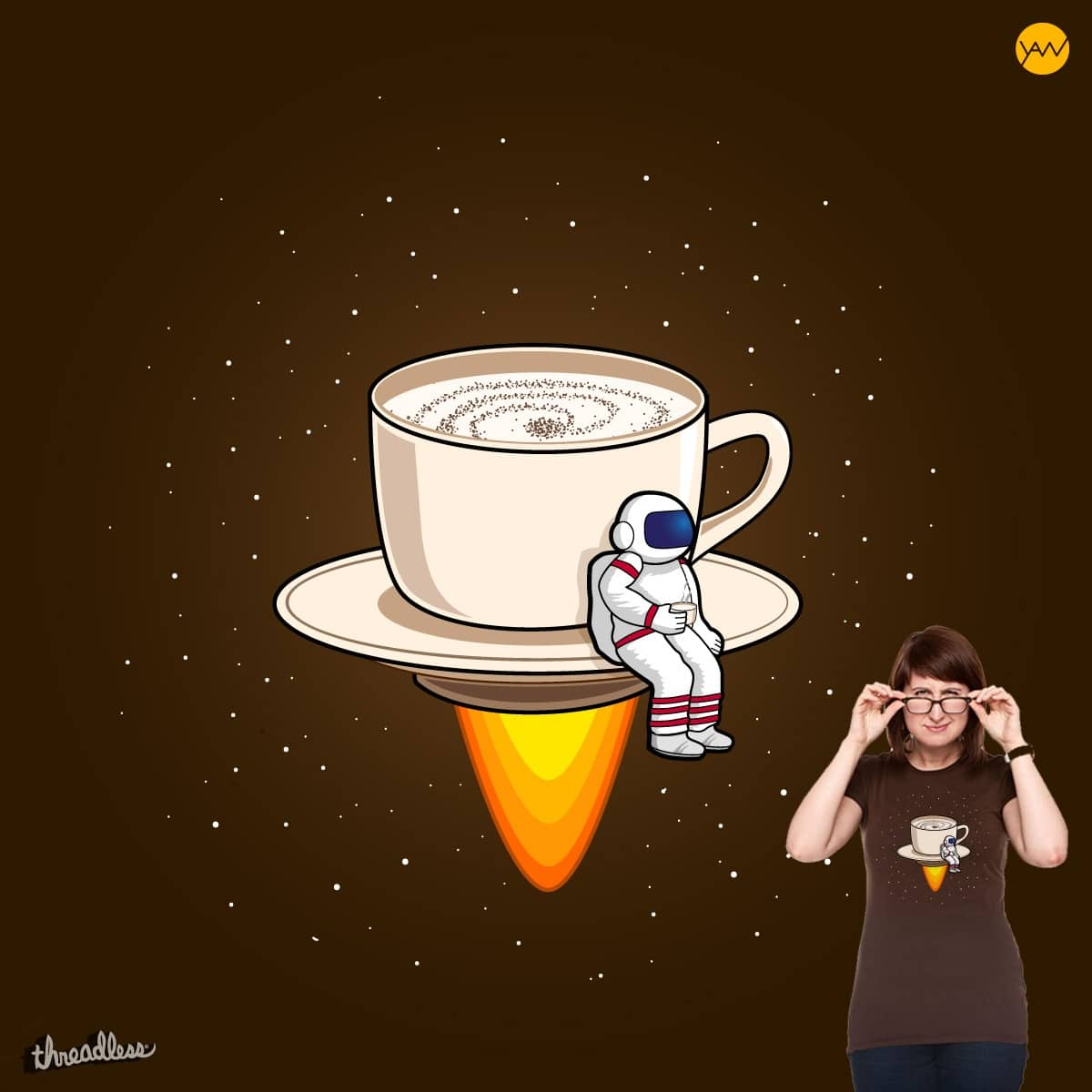 The Milky way by wimadeputra on Threadless
