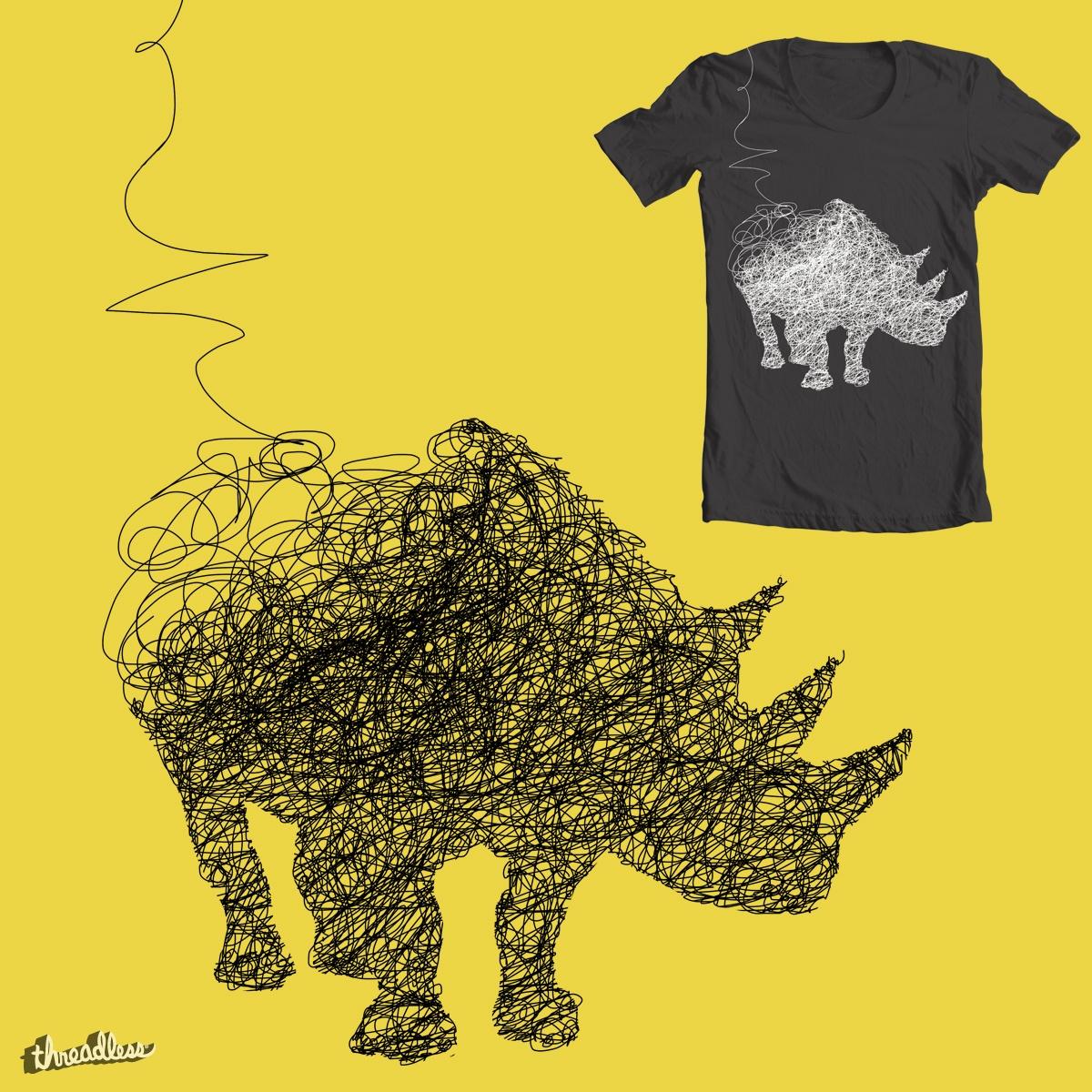 The last Rhino by Farnell on Threadless