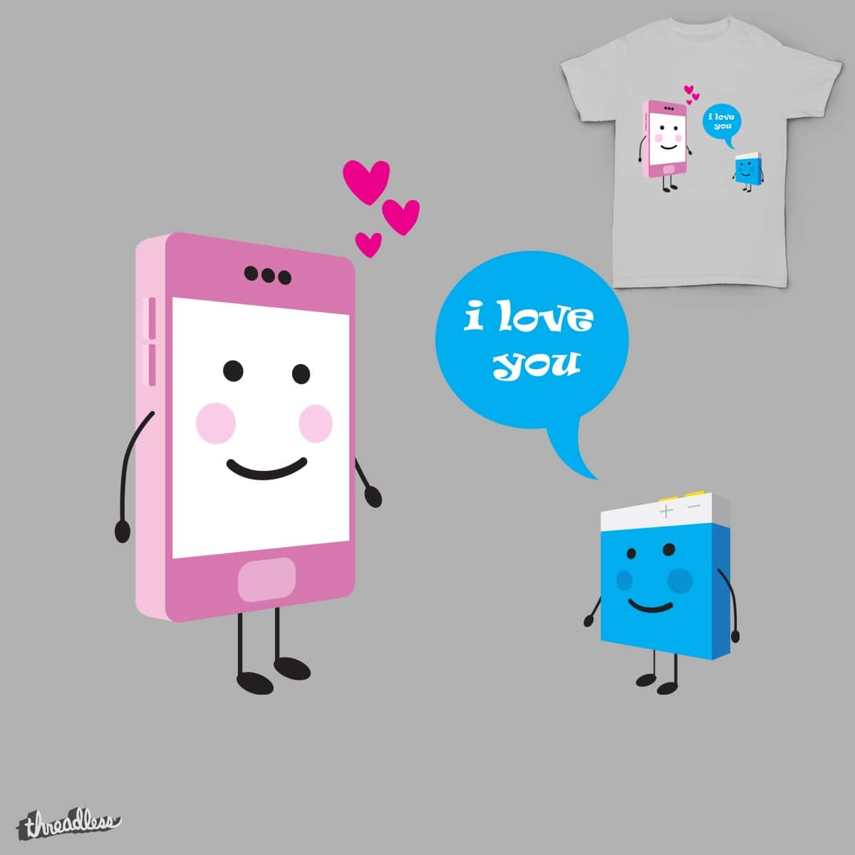 i love you by bbatzolboo on Threadless