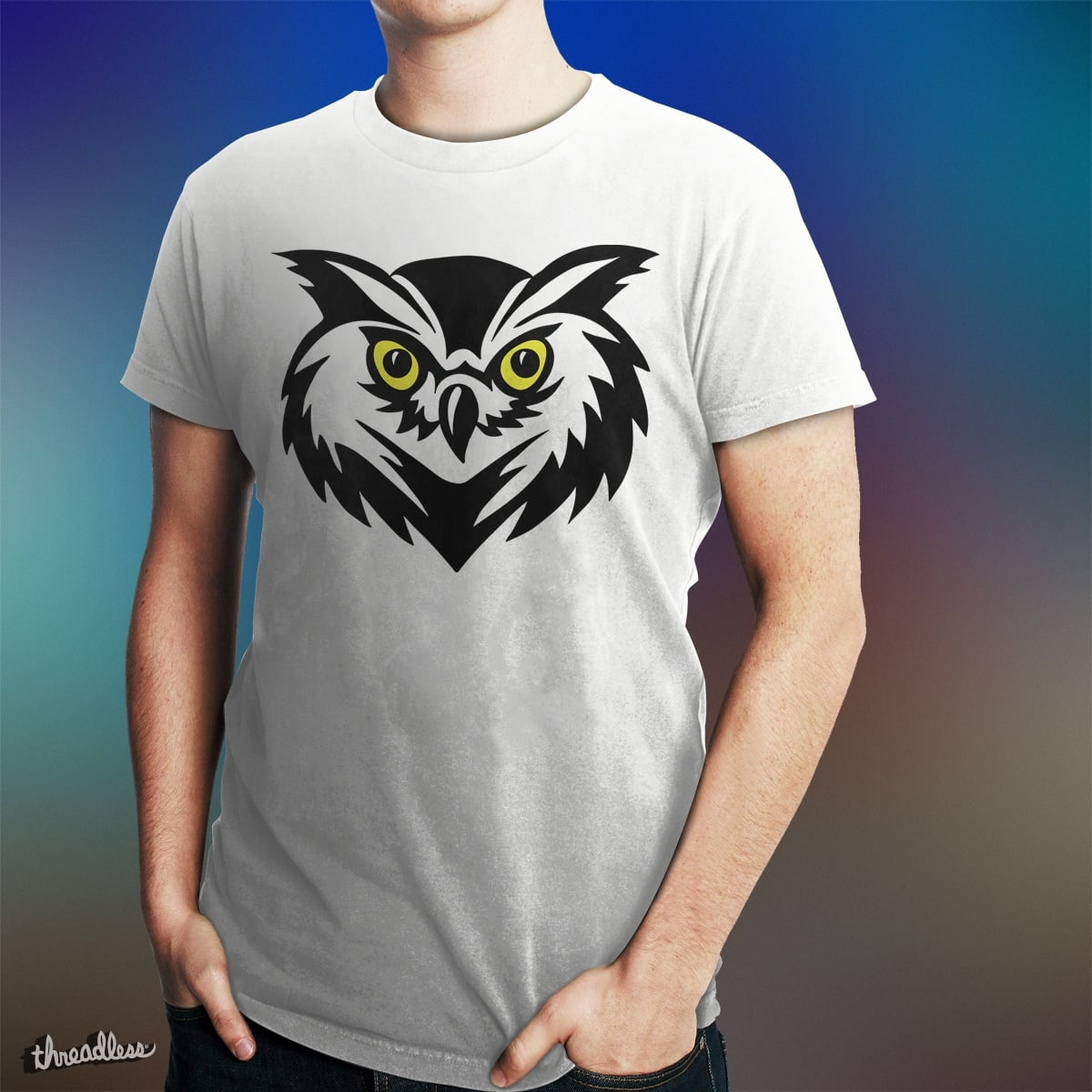 Angry little owl by draco_cristi on Threadless