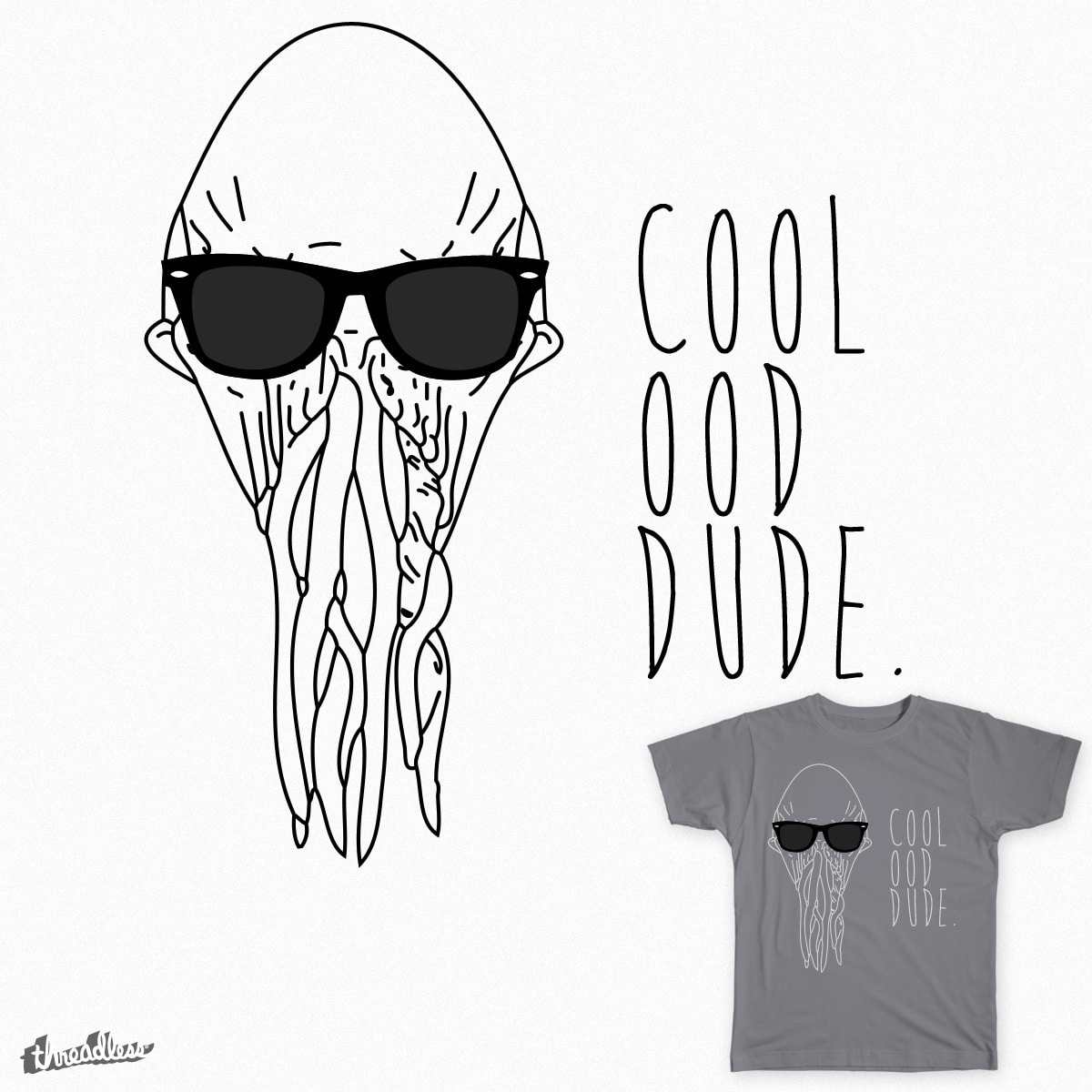 Cool Ood Dude. by waynejay on Threadless