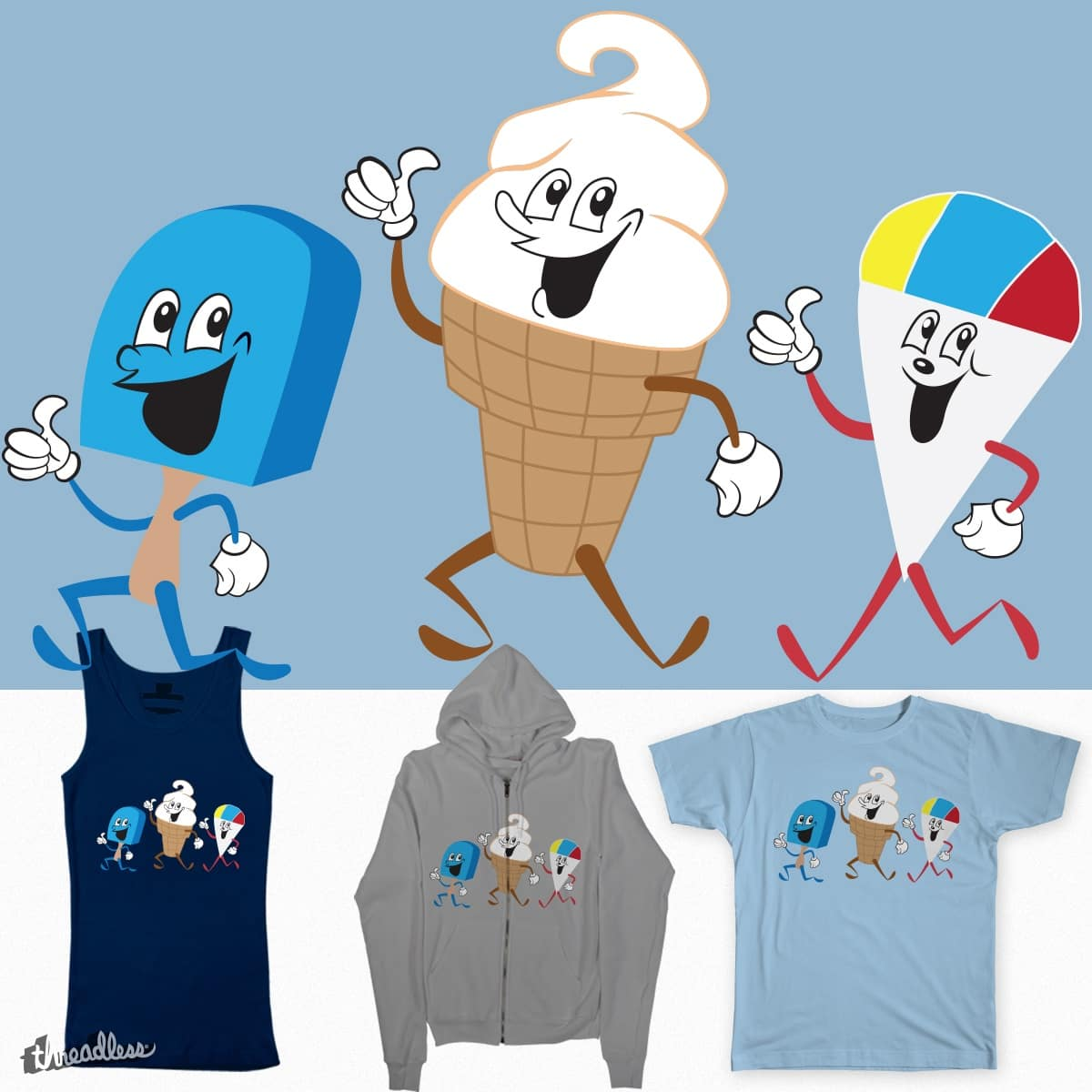 Let's all go to the freezer... by emm_squared on Threadless