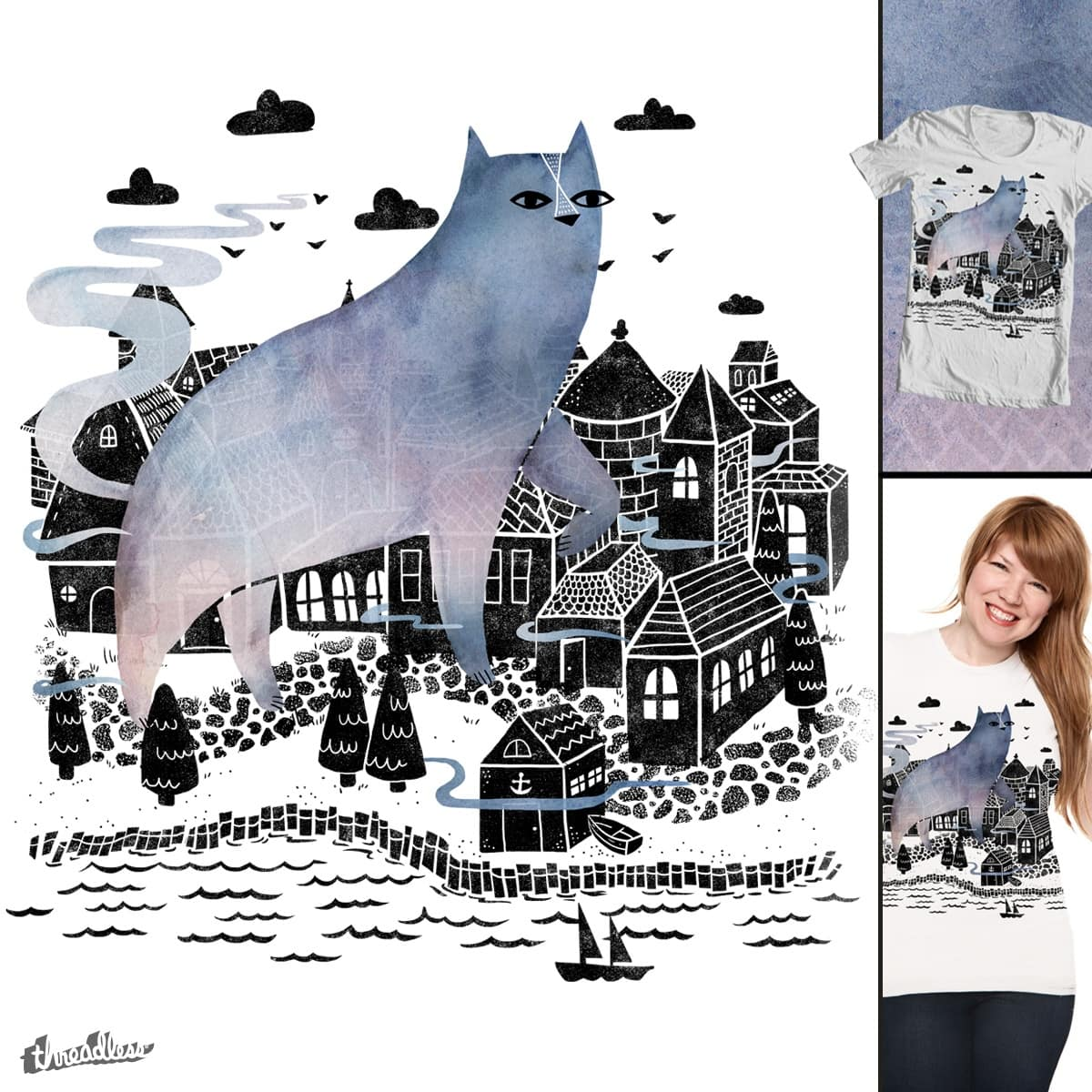 The Fog by littleclyde on Threadless