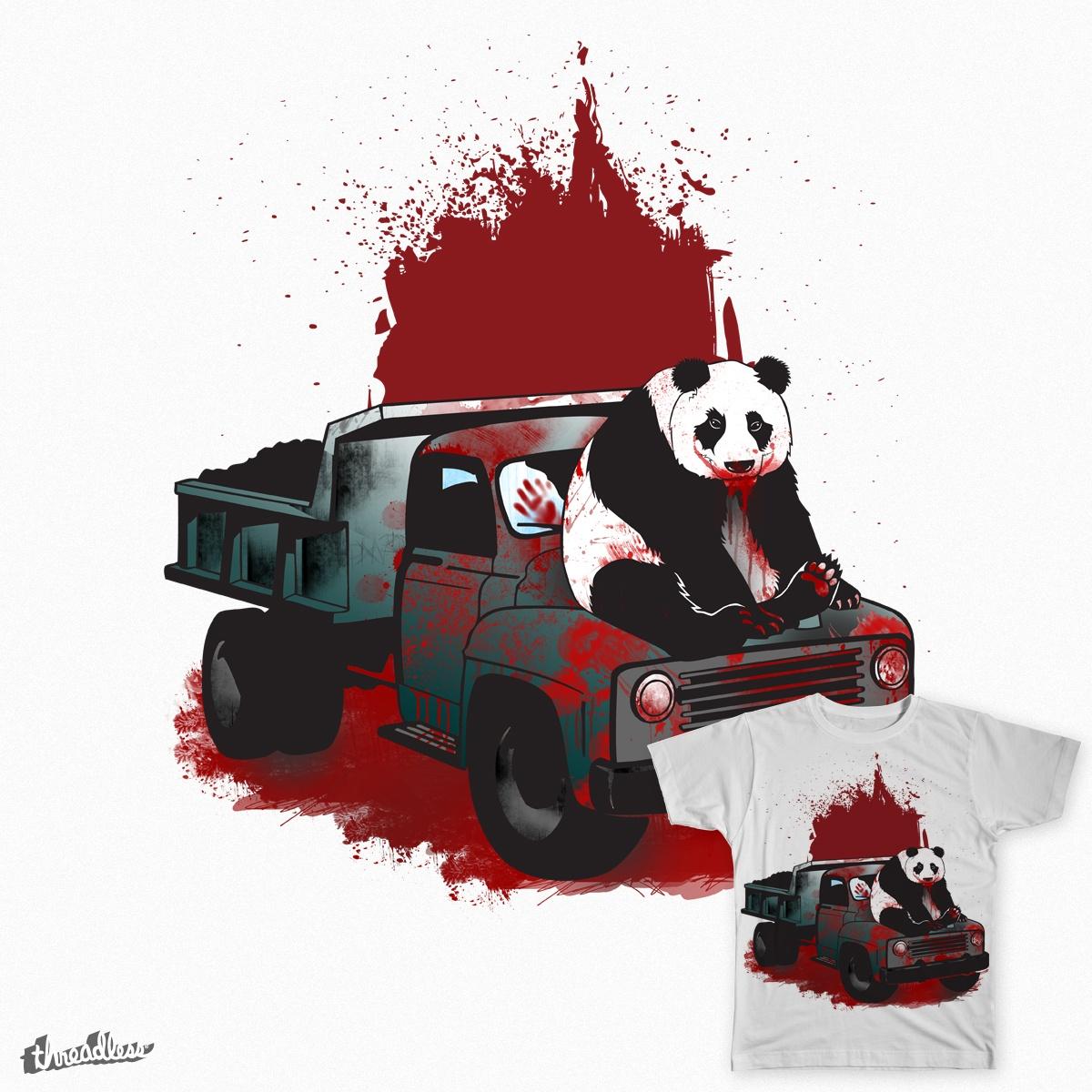 Horror Panda by ismawie on Threadless