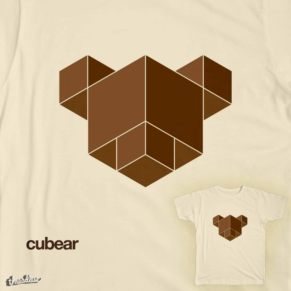 cubear by DanyaDolotov on Threadless