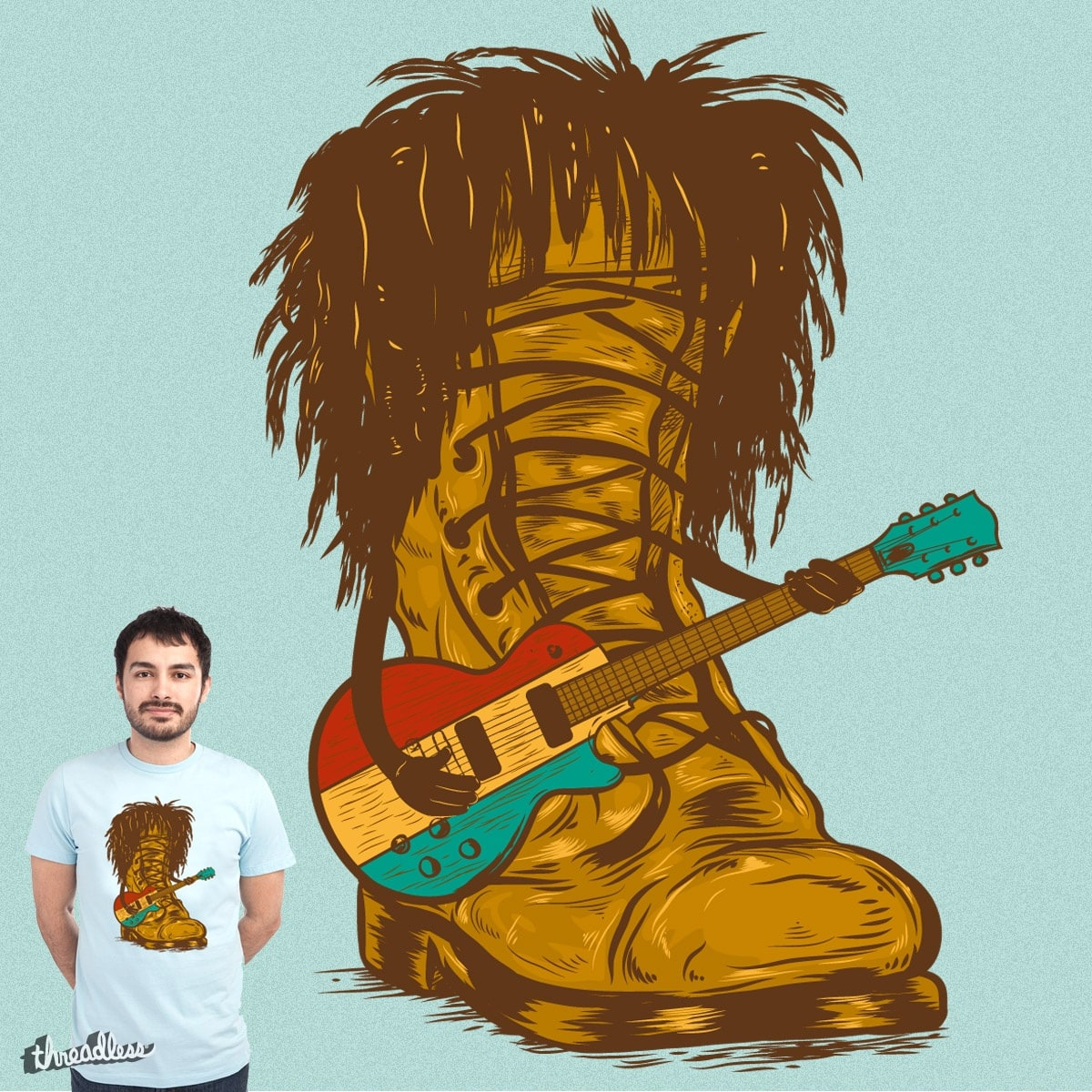 BOOT MARLEY by mainial on Threadless