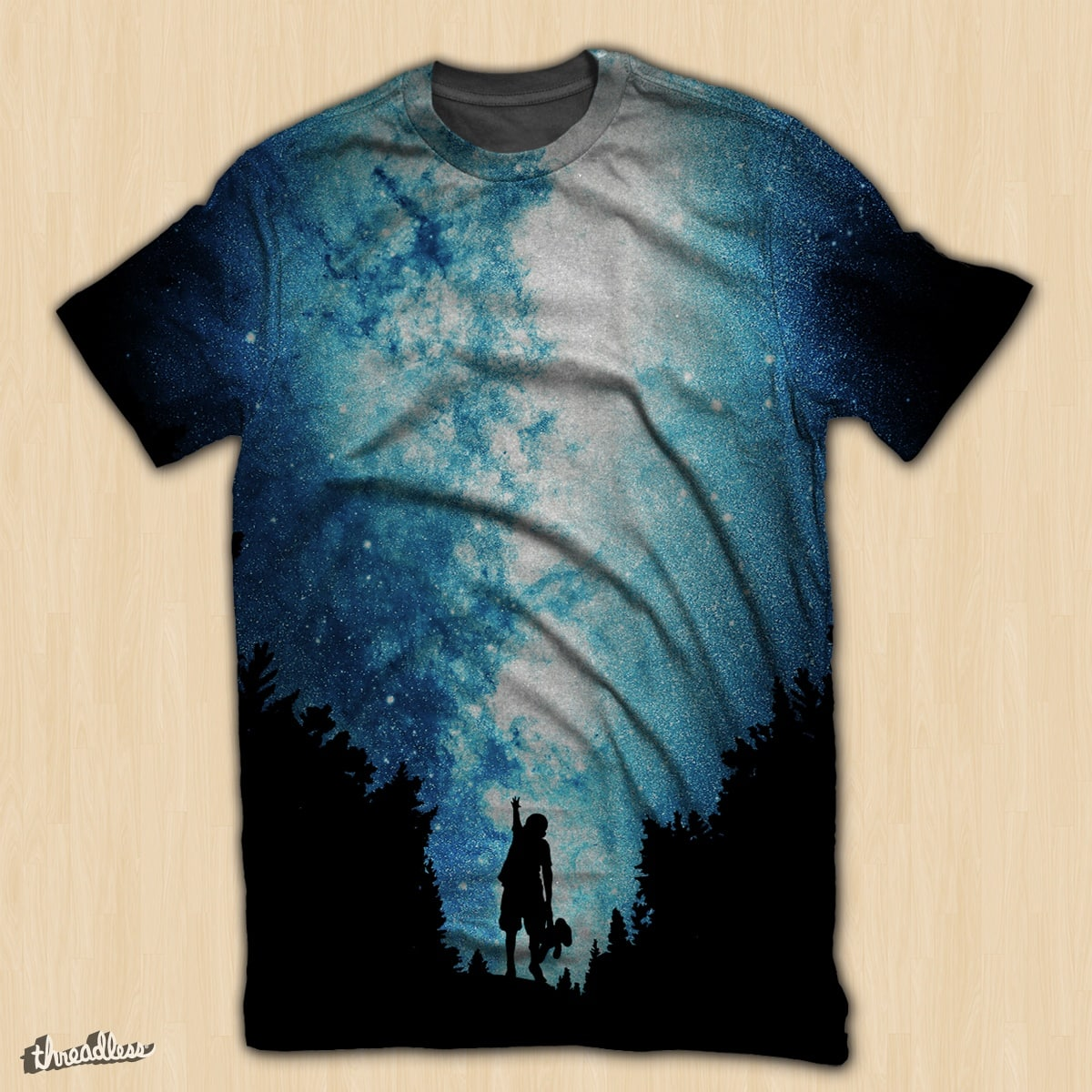 Reach For The Stars by MarkkoHellat on Threadless