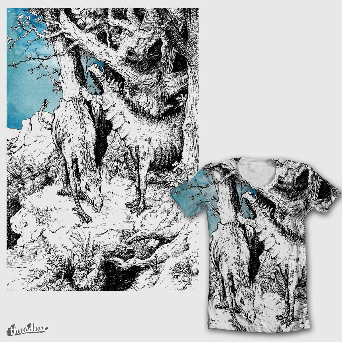 Fabelwesen I by WhoKnowsEverything on Threadless