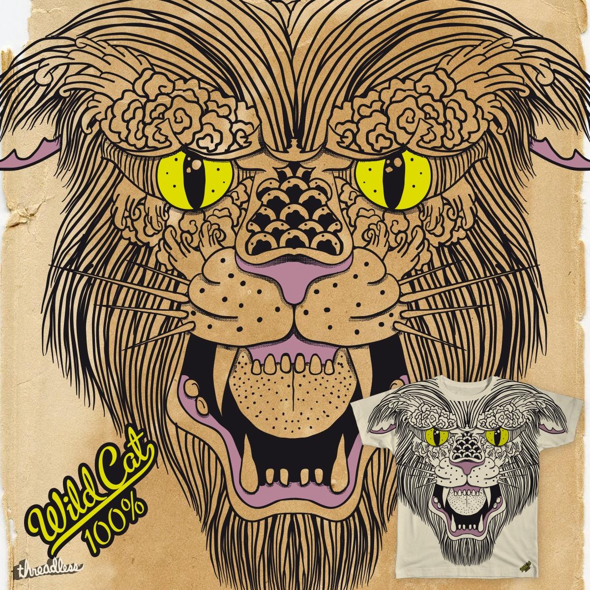 Wild Cat 100% by dada1987 on Threadless