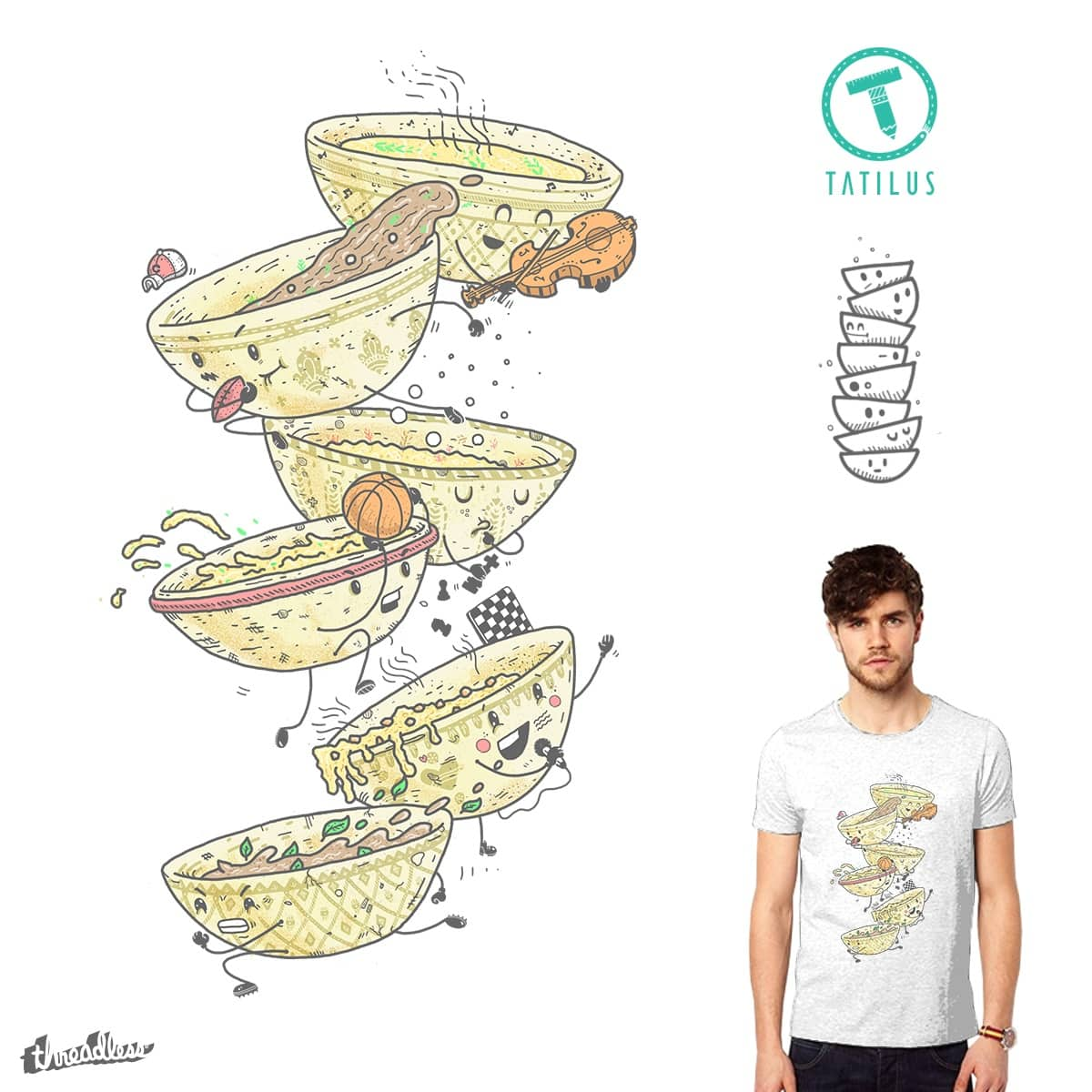 Extra-Curry-cular Activities by tatilus on Threadless
