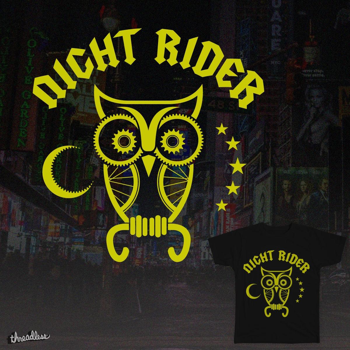 NightRider by reigedesign on Threadless