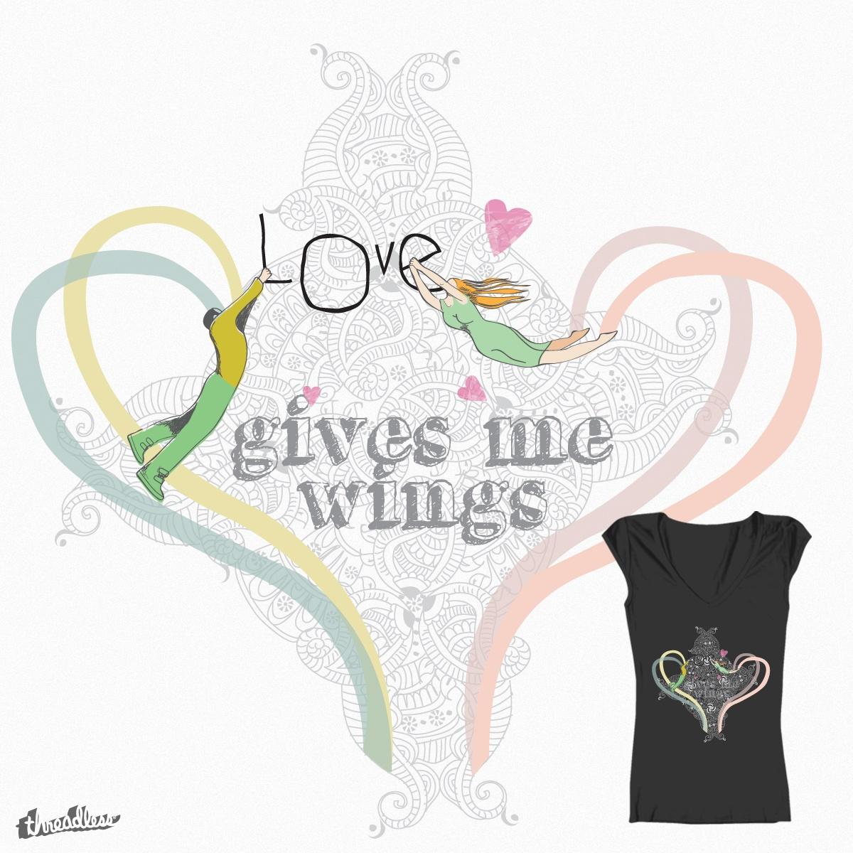 Lovers Fly by estela.gaspar.161 on Threadless