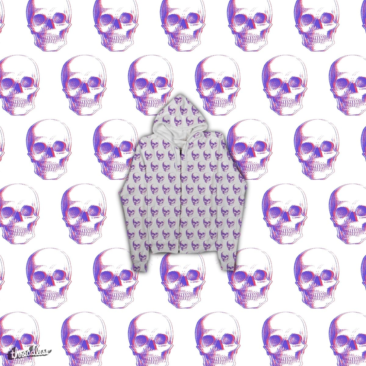 Op-Skull by rkrrk on Threadless
