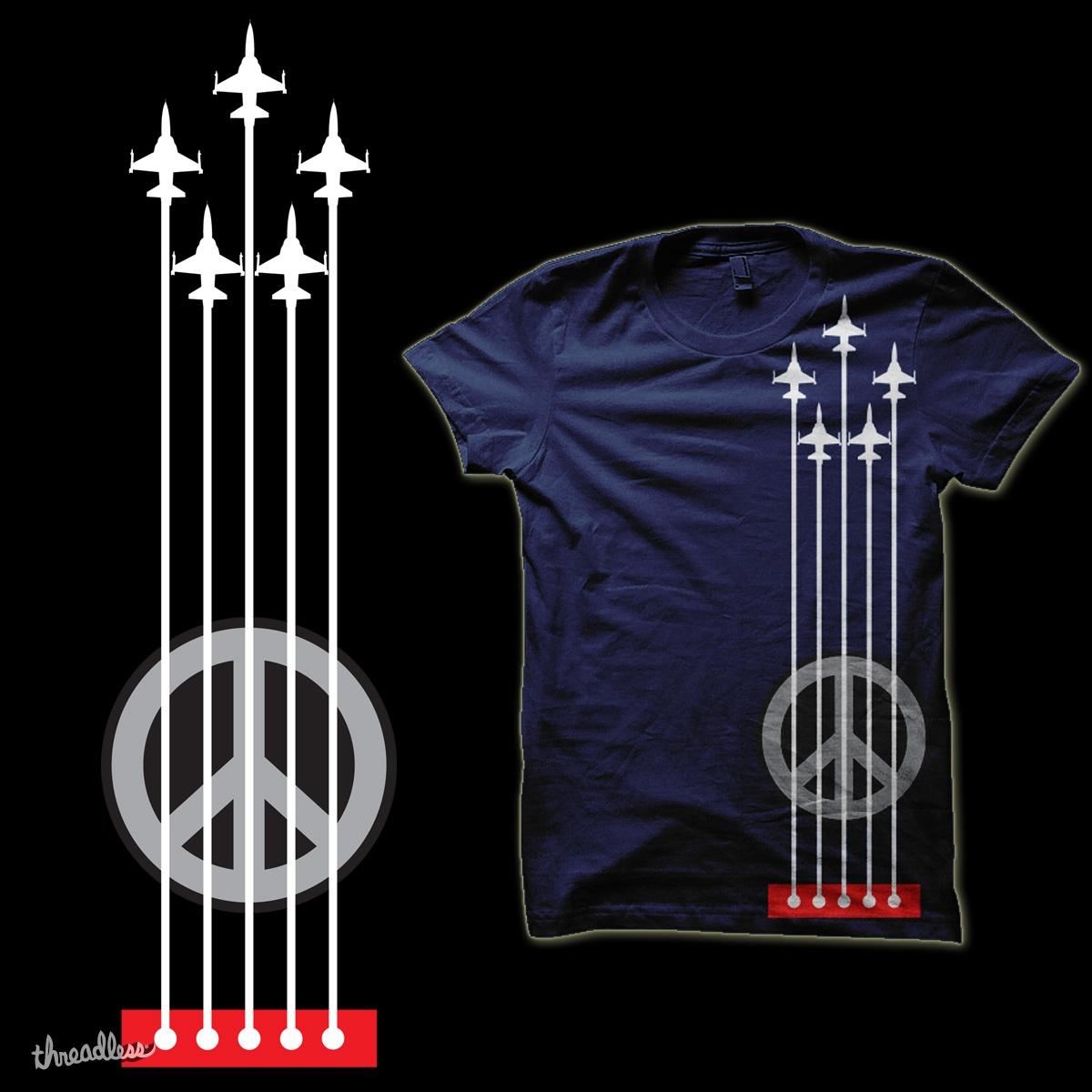 make music & peace not war  by jhun213 on Threadless