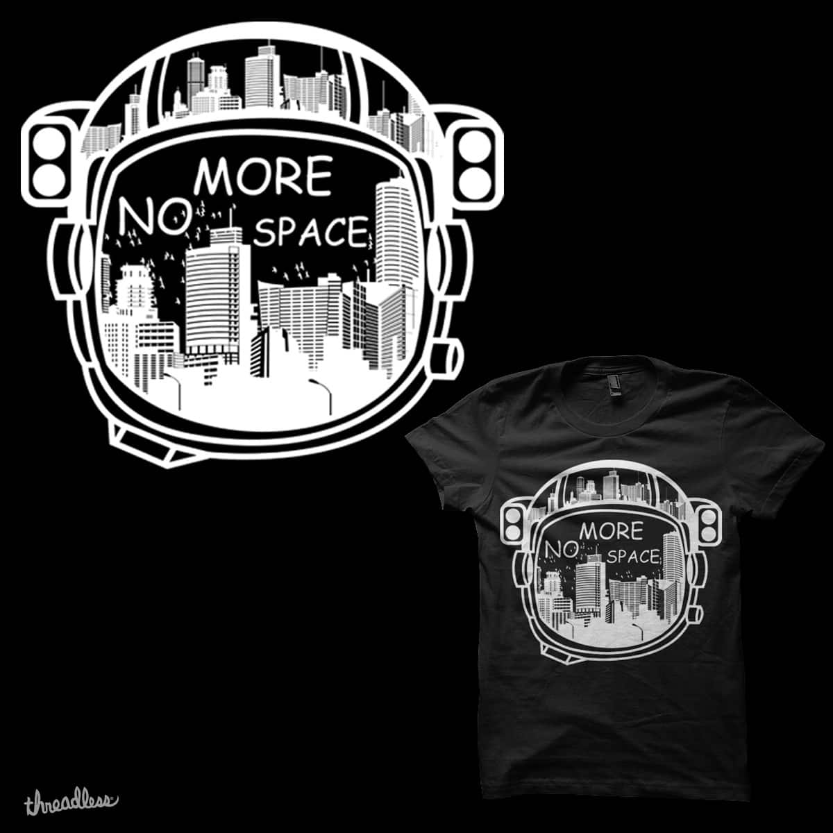 no more space  by jhun213 on Threadless