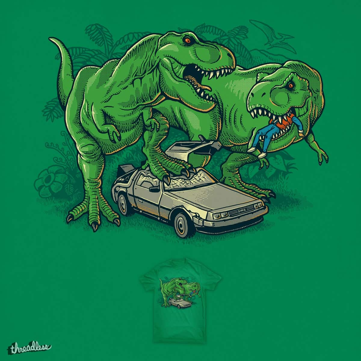 The End Of Time Travel by ben chen on Threadless