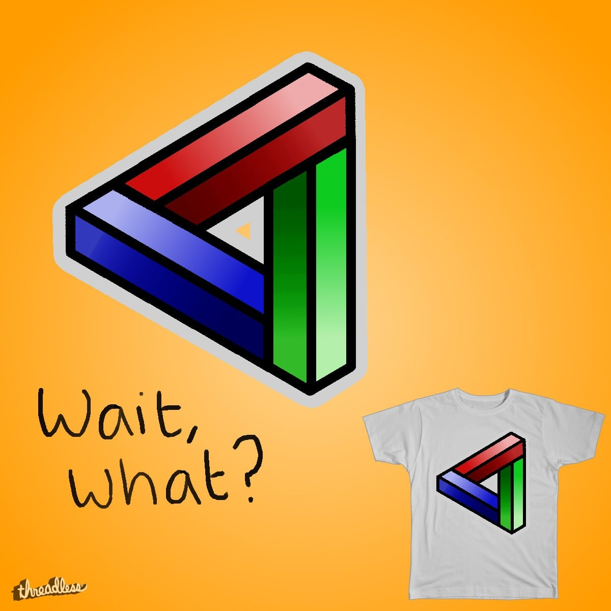 Wait, what? by Danwilz on Threadless