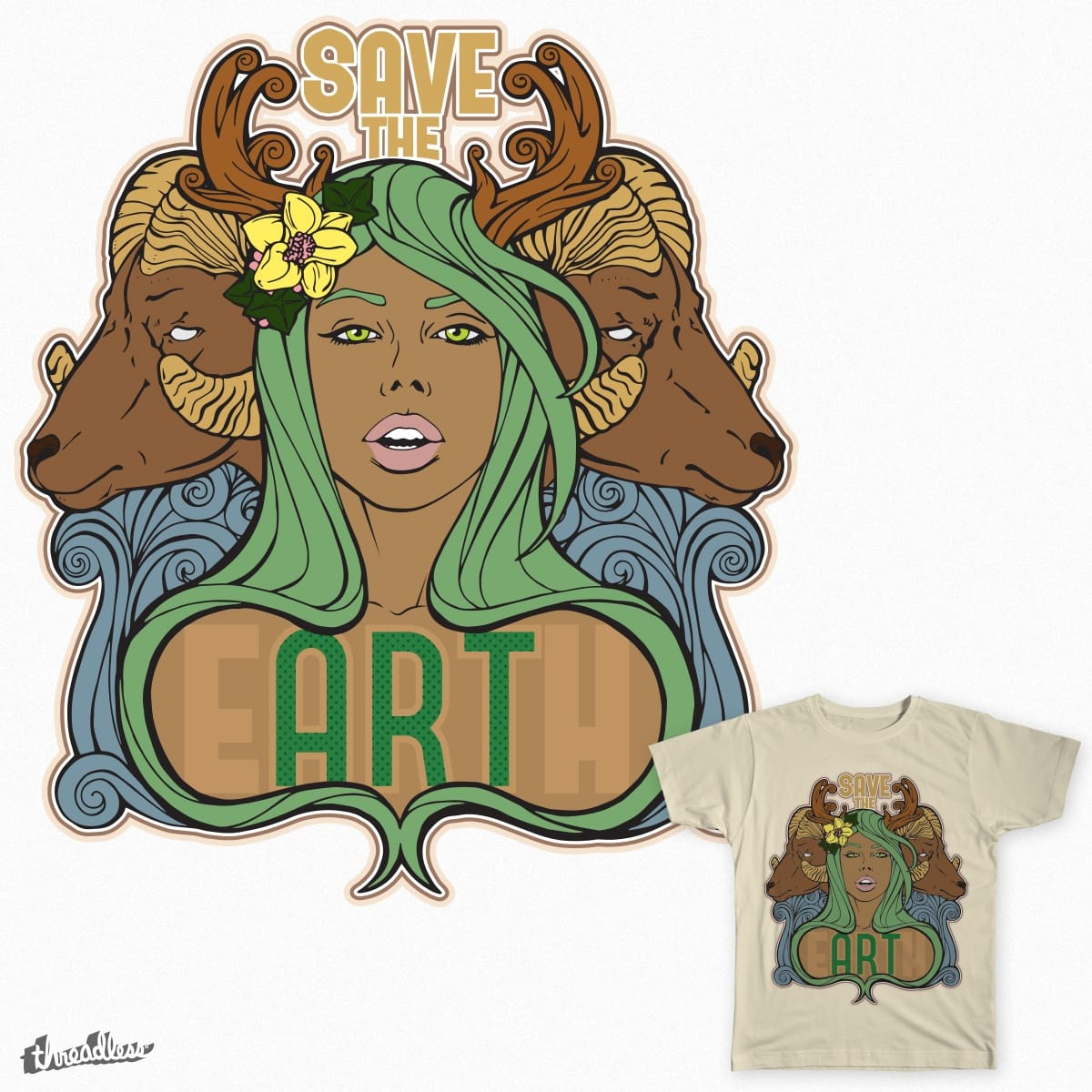 Save The eARTh by GeniusBeing on Threadless