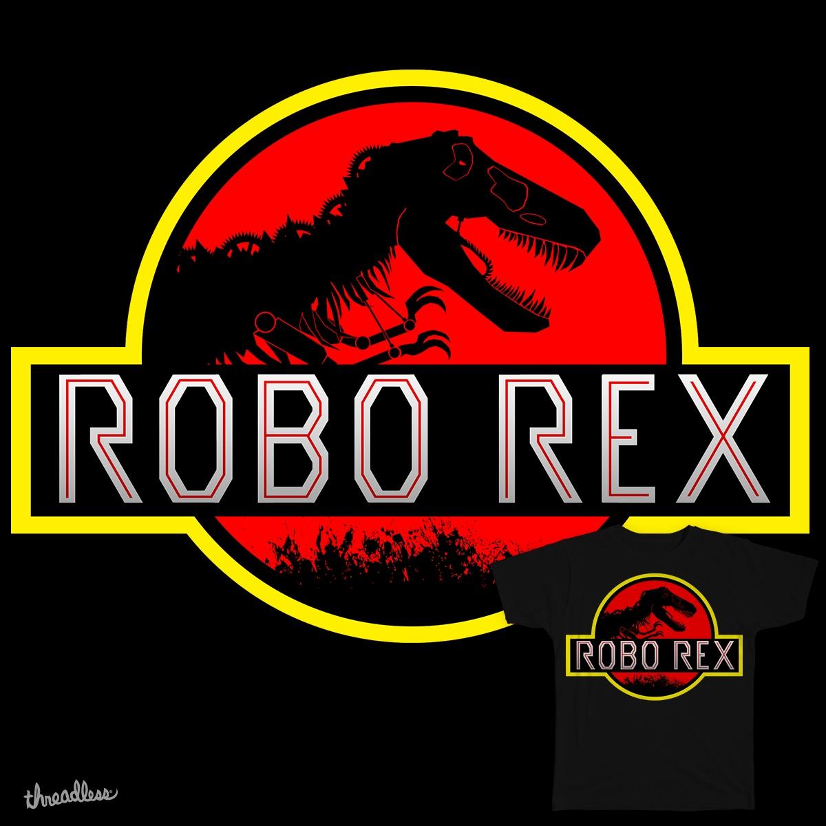 Robo Rex by zyxavier on Threadless