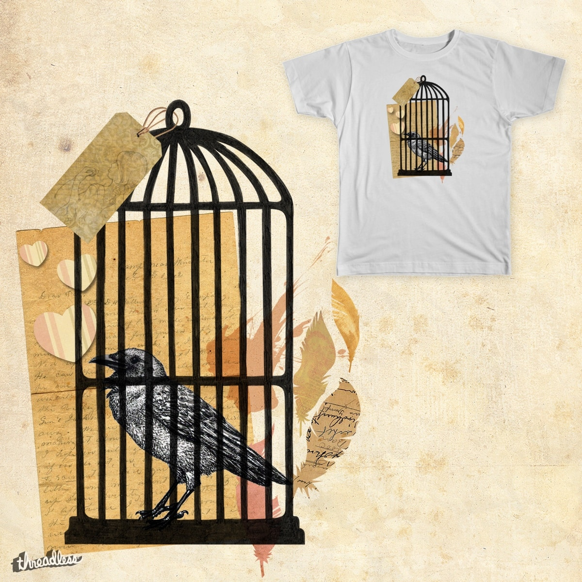 Cage by Half_Pint on Threadless