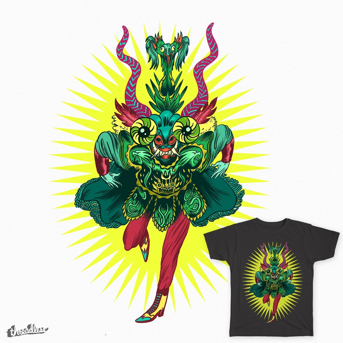 Diablada by gustarzinger on Threadless