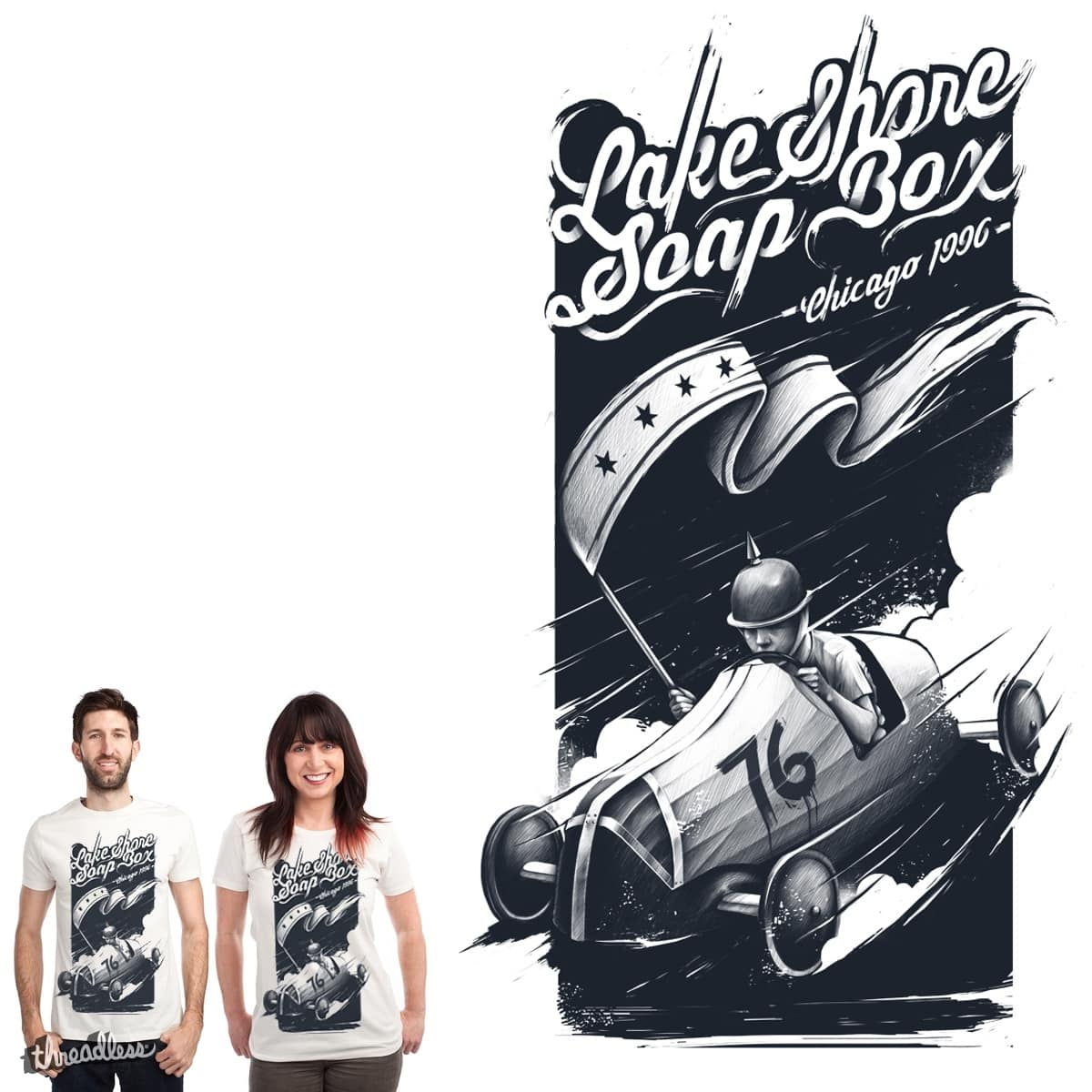 Lake Shore Soap Box by CUBAN0 on Threadless