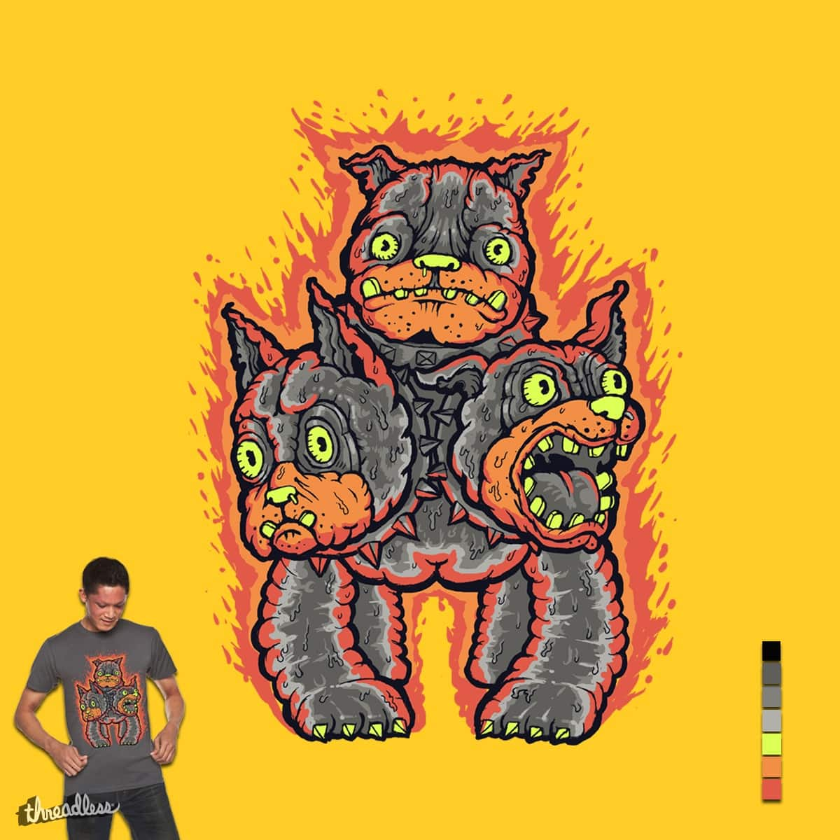 Hot in Hell ! by Villainmazk on Threadless