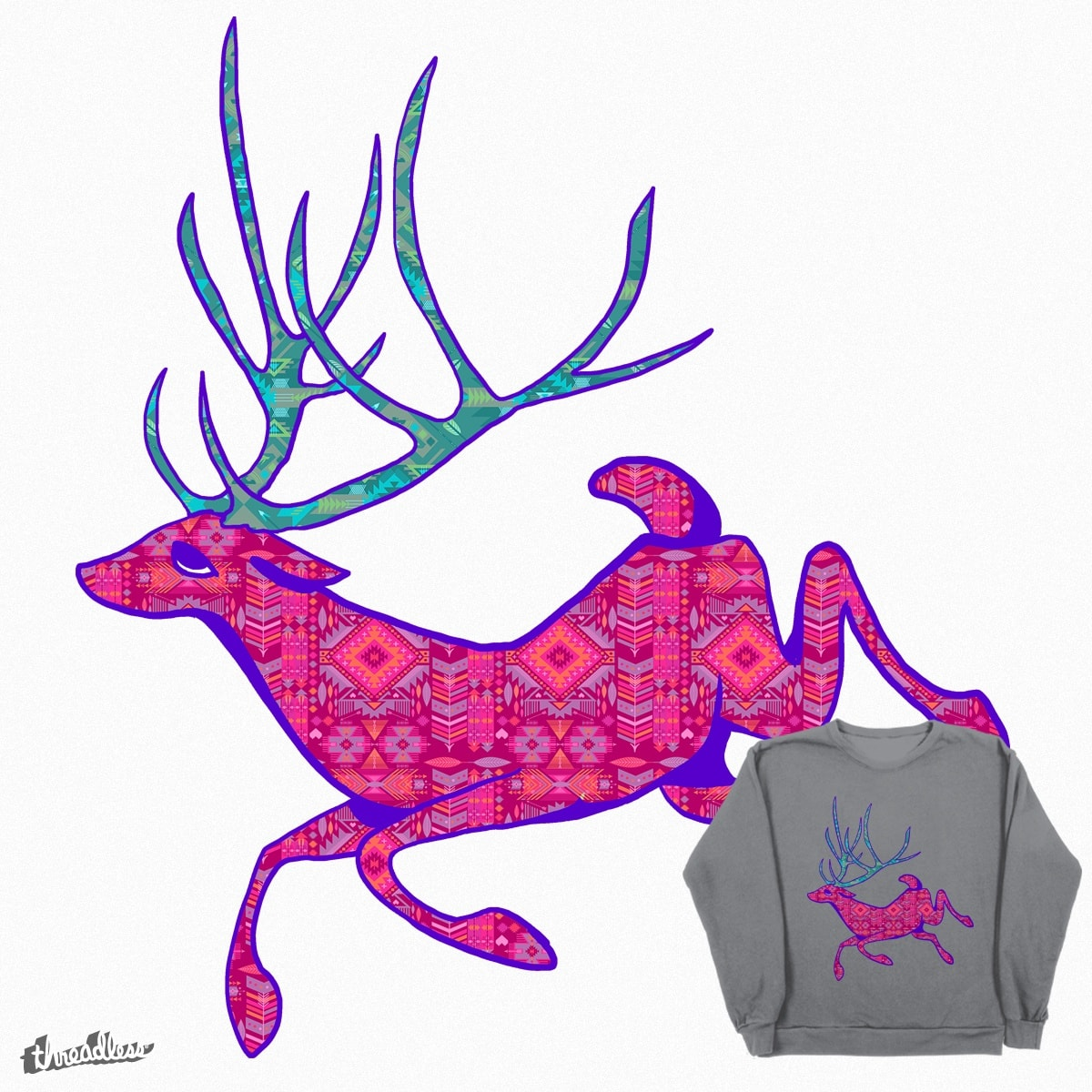 Deer Bae by caseybassey on Threadless